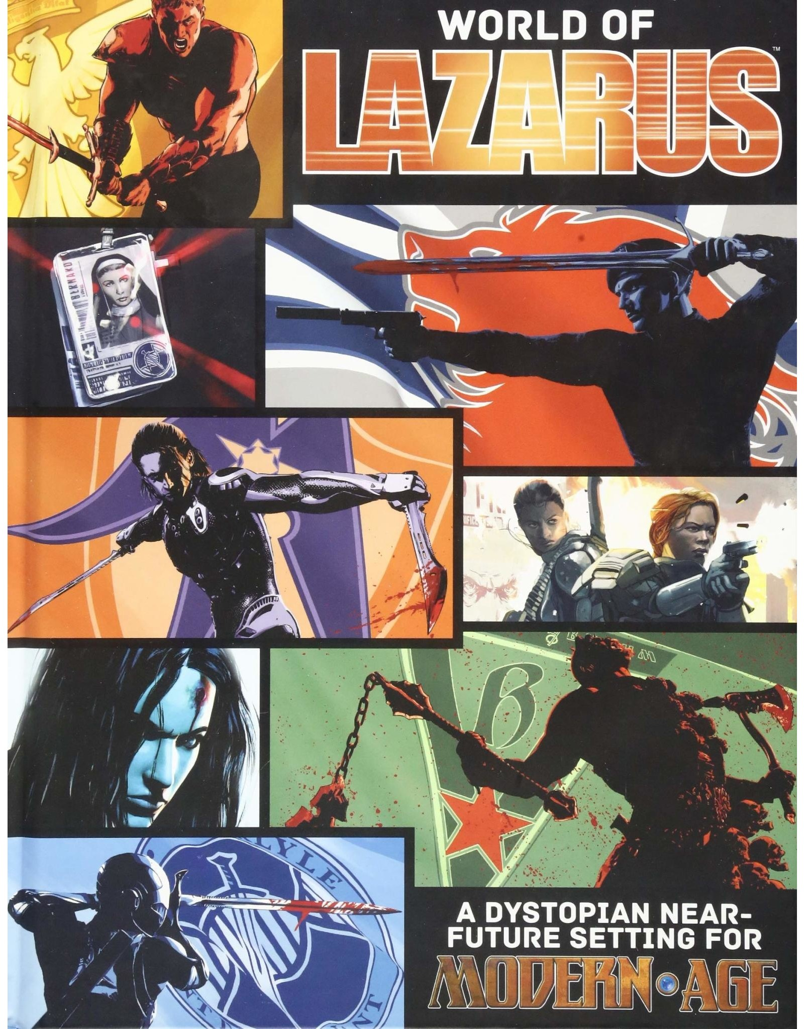 Modern AGE: The World of Lazarus Campaign Setting
