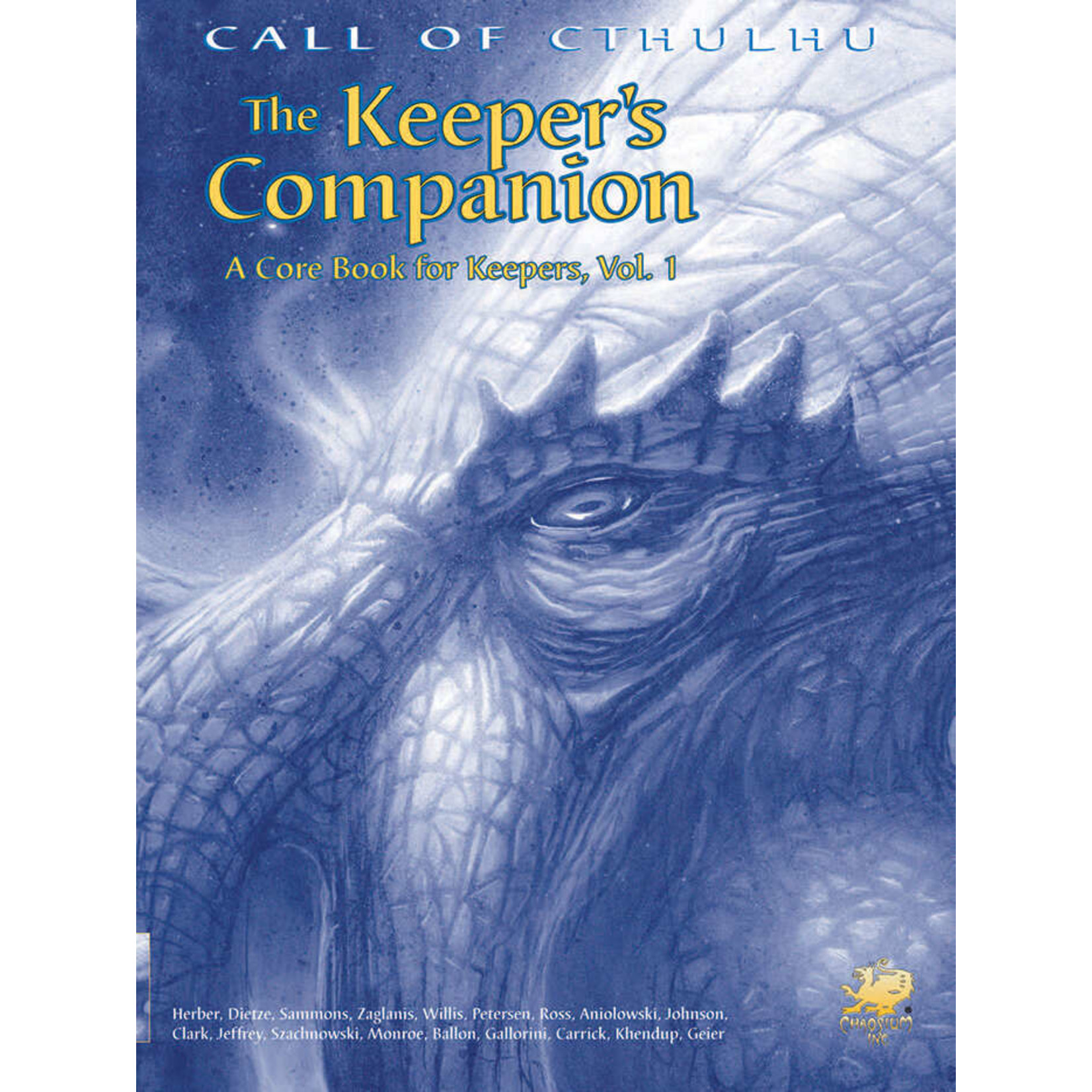 Call of Cthulhu RPG 6e The Keeper's Companion Vol. 1