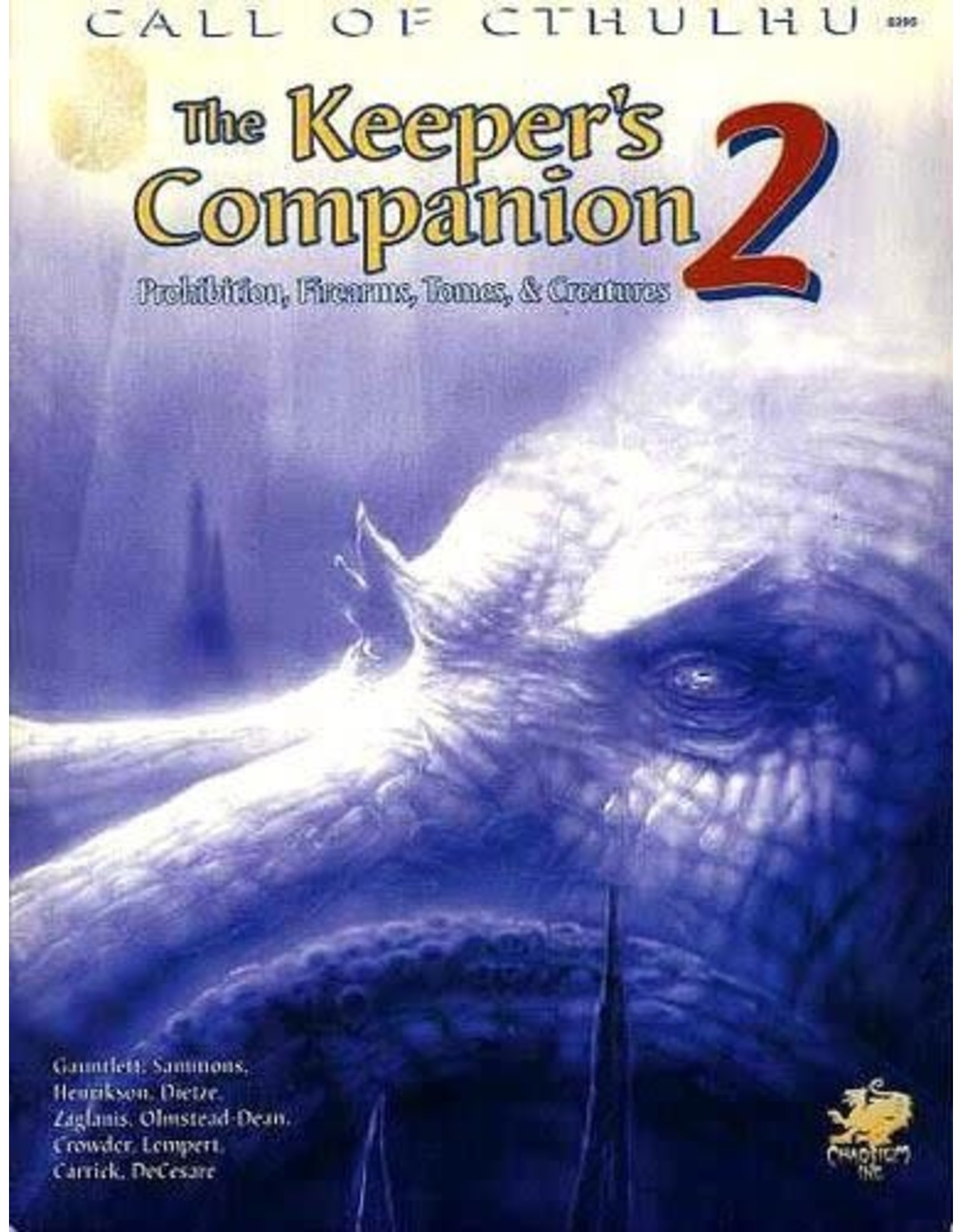 Call of Cthulhu RPG 6e The Keeper's Companion Vol. 2