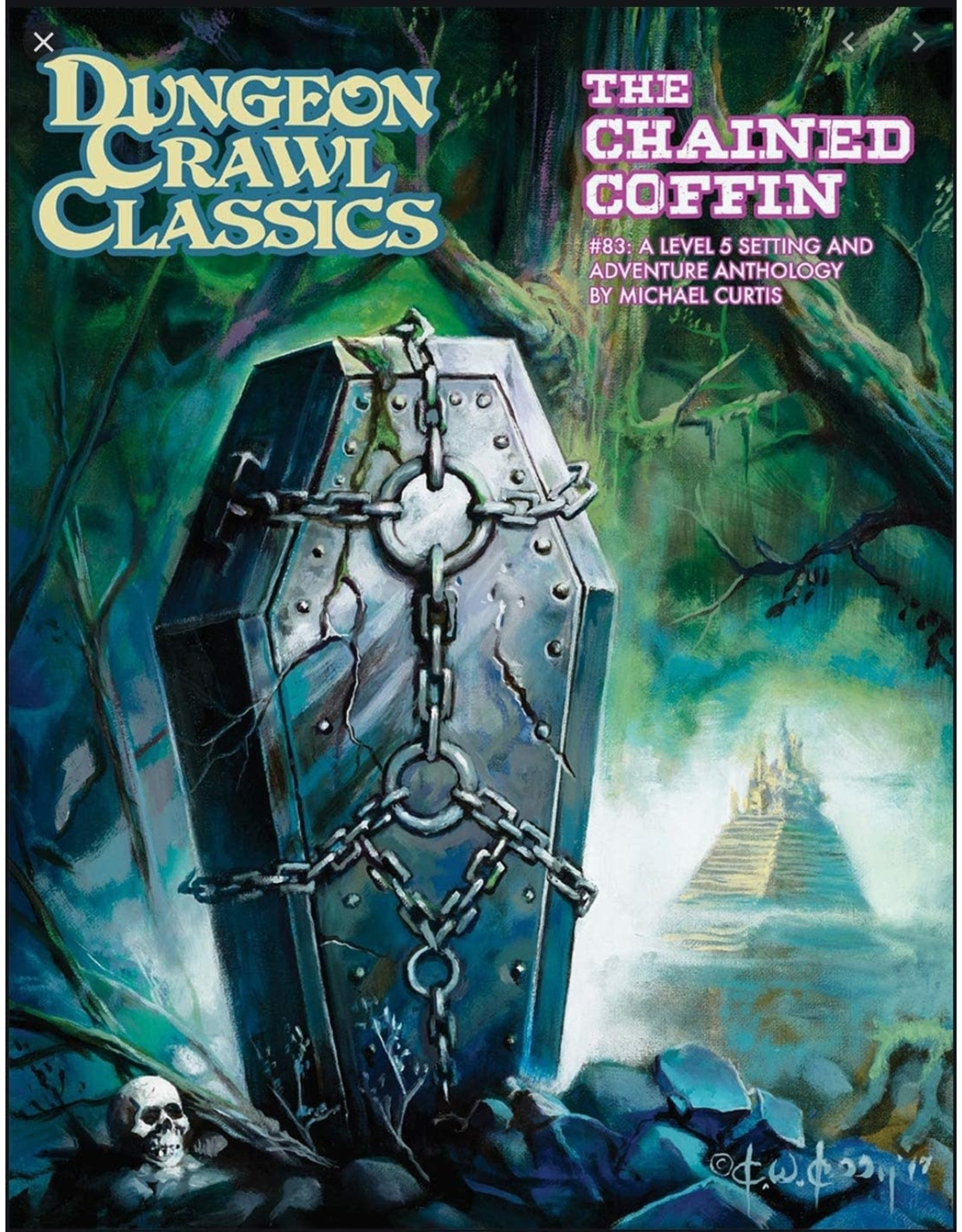 Dungeon Crawl Classics #83 The Chained Coffin