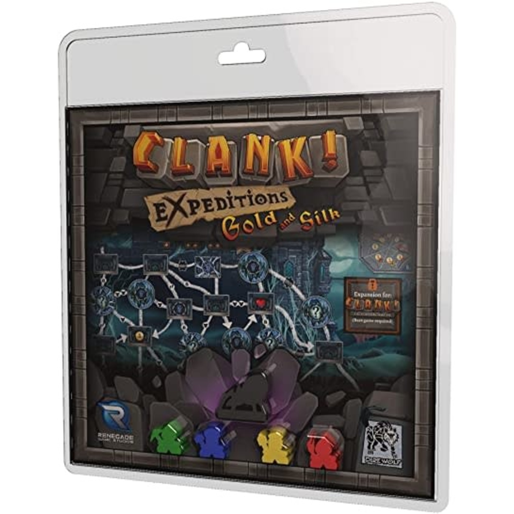 Clank! Gold and Silk Gold and Silk Expansion