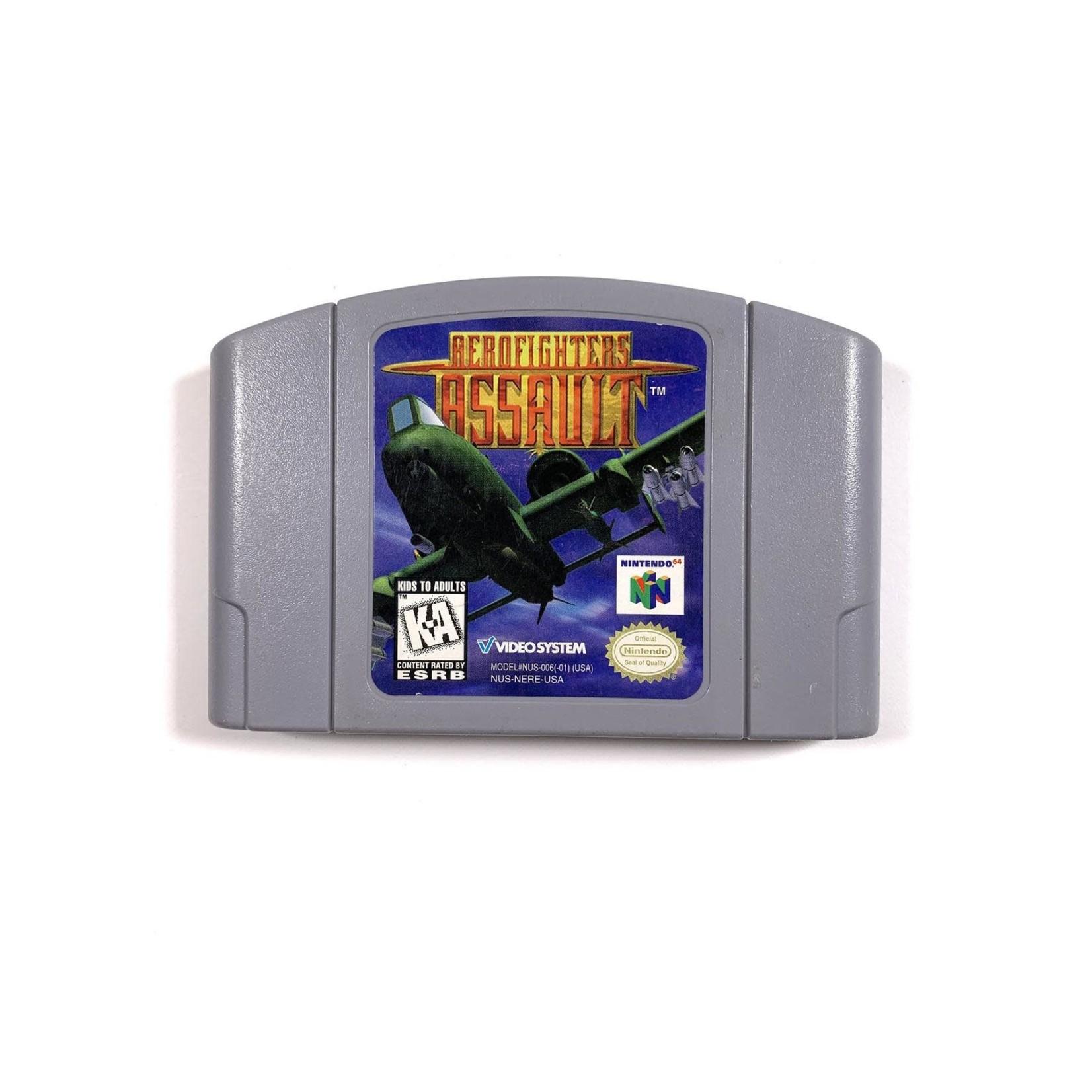 Aerofighters Assault (N64)