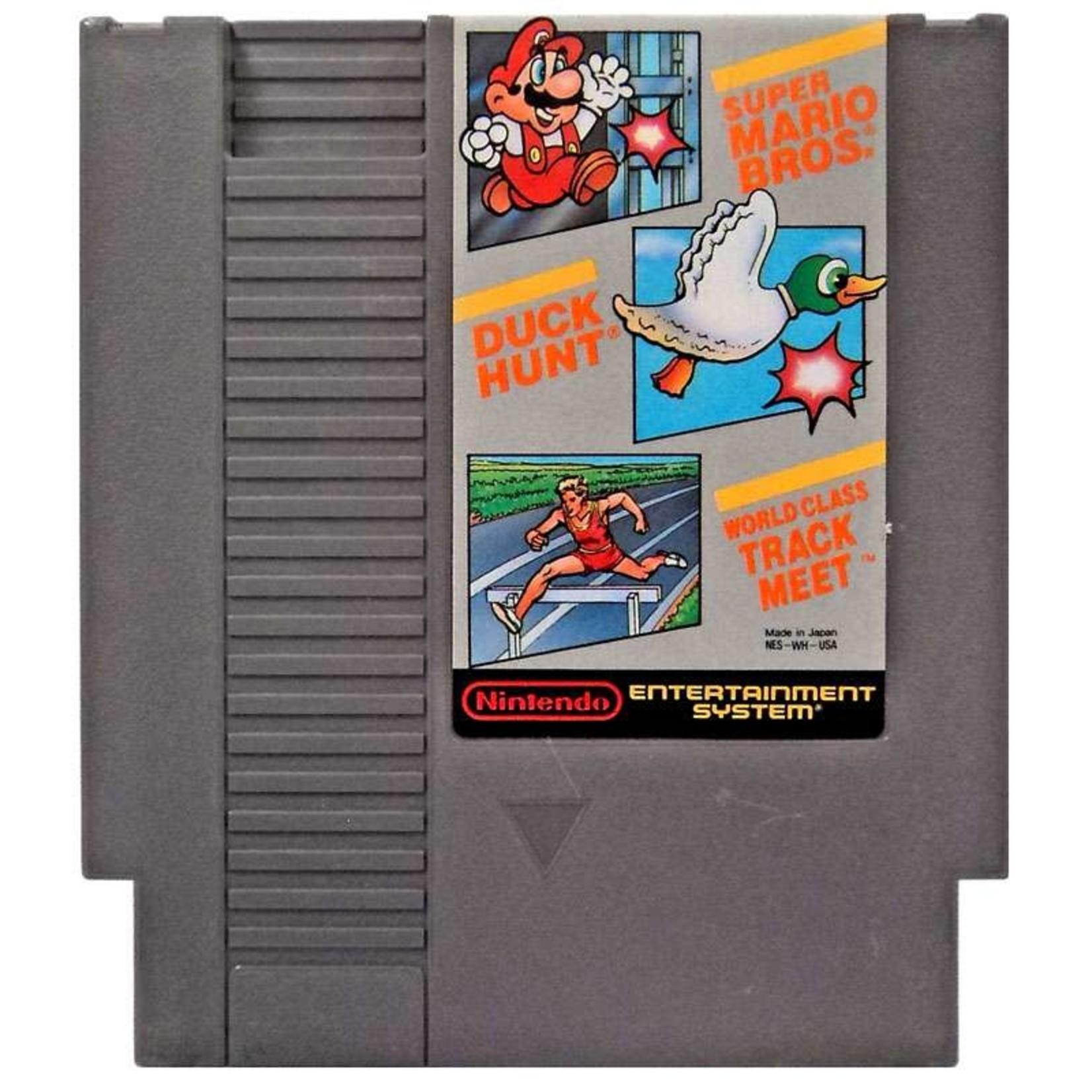Super Mario Bros Duck Hunt World Class Track Meet (NES)
