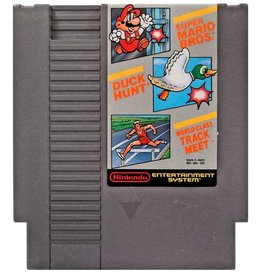 Super Mario Bros Duck Hunt World Class Track Meet (NES)