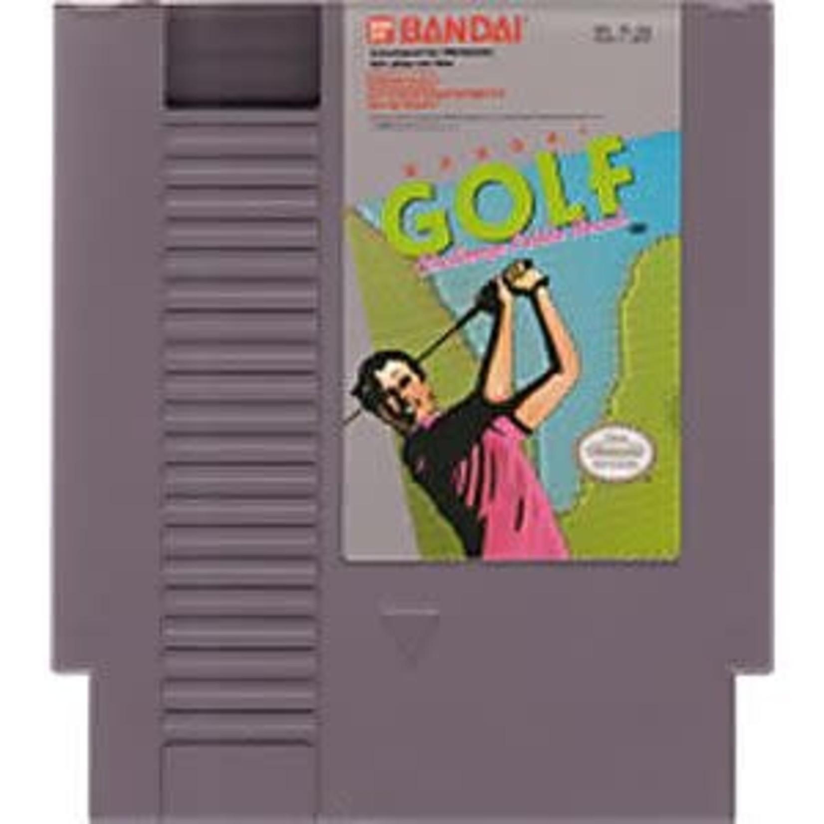 Bandai Golf Challenge Pebble Beach (NES)