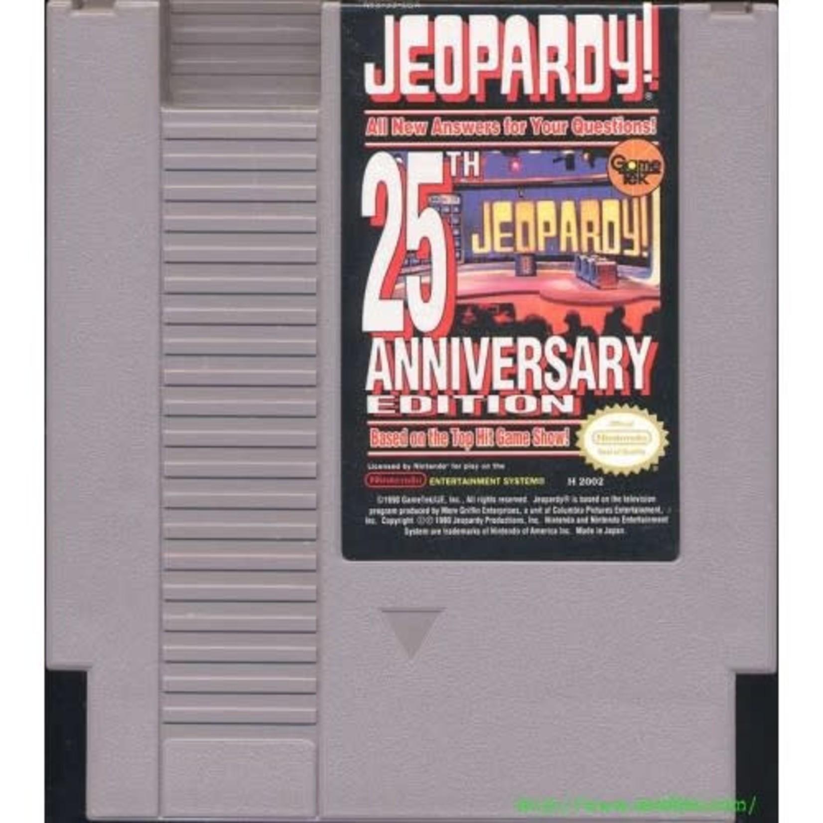 Jeopardy 25th Anniversary (NES)