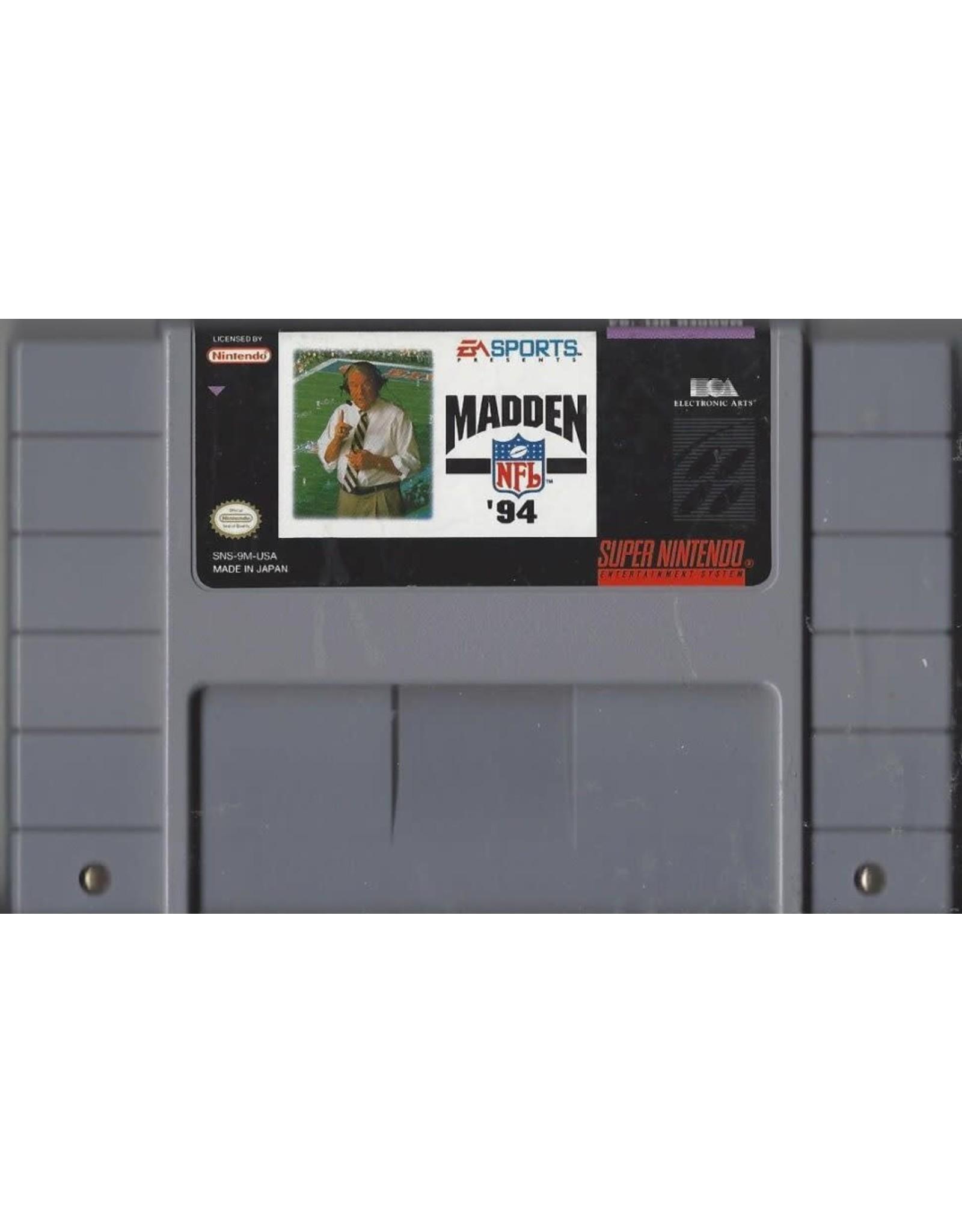 Madden NFL '94 (SNES)