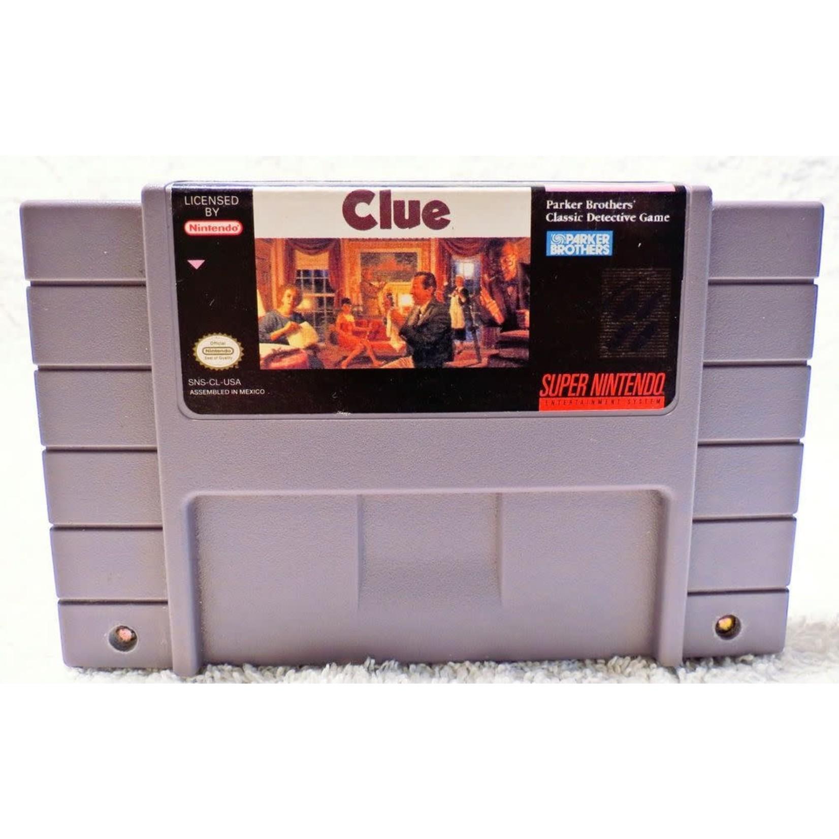 Clue (SNES)