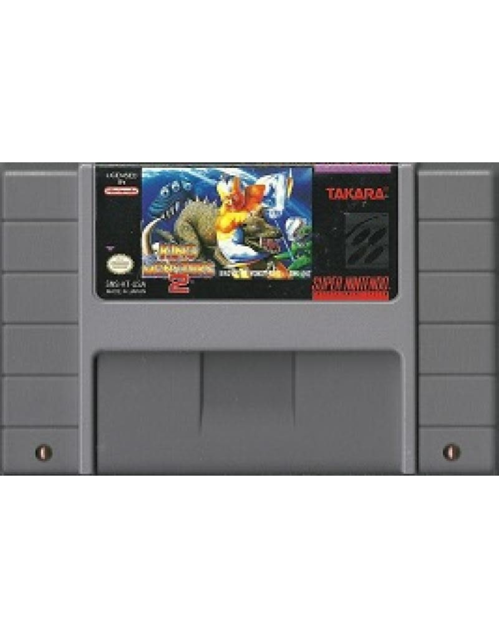 King of the Monsters 2 (SNES)