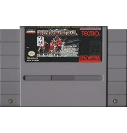 Tecmo Super NBA Basketball (SNES)