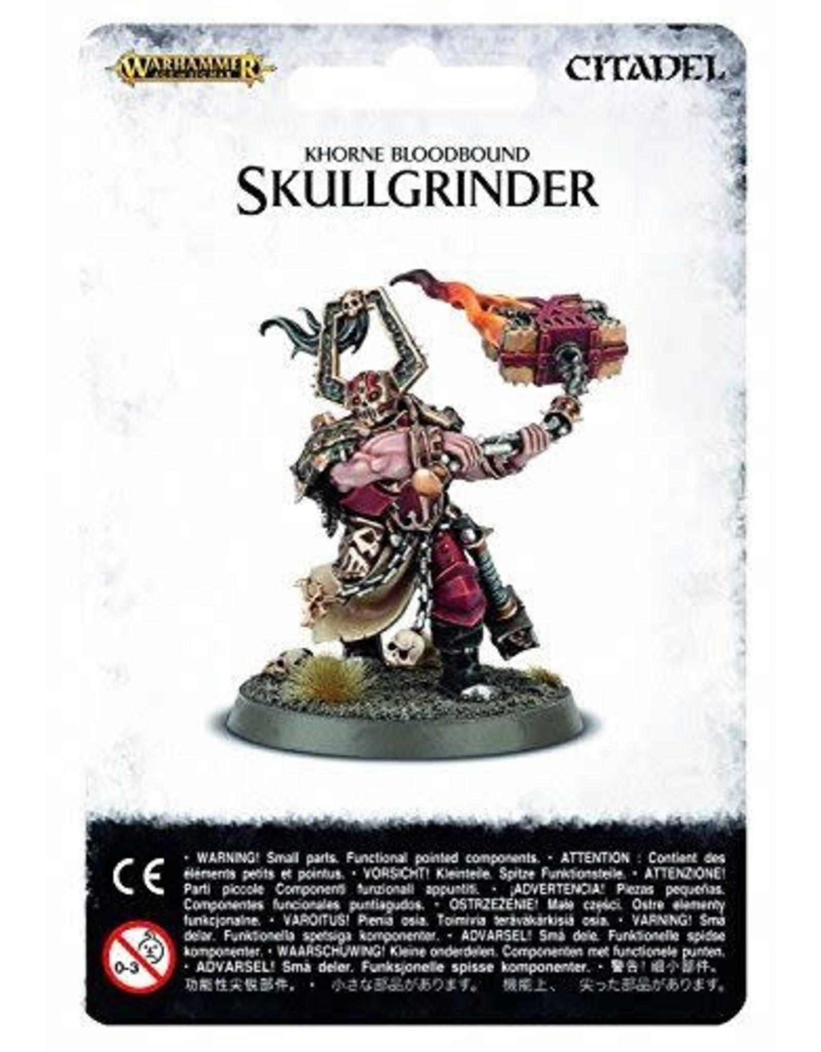 Khorne Bloodbound Skullgrinder (AOS)
