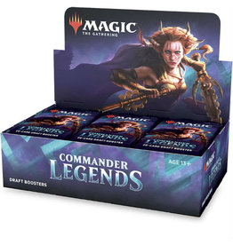 Wizards of the Coast Commander Legends Draft Booster Box - Preorder