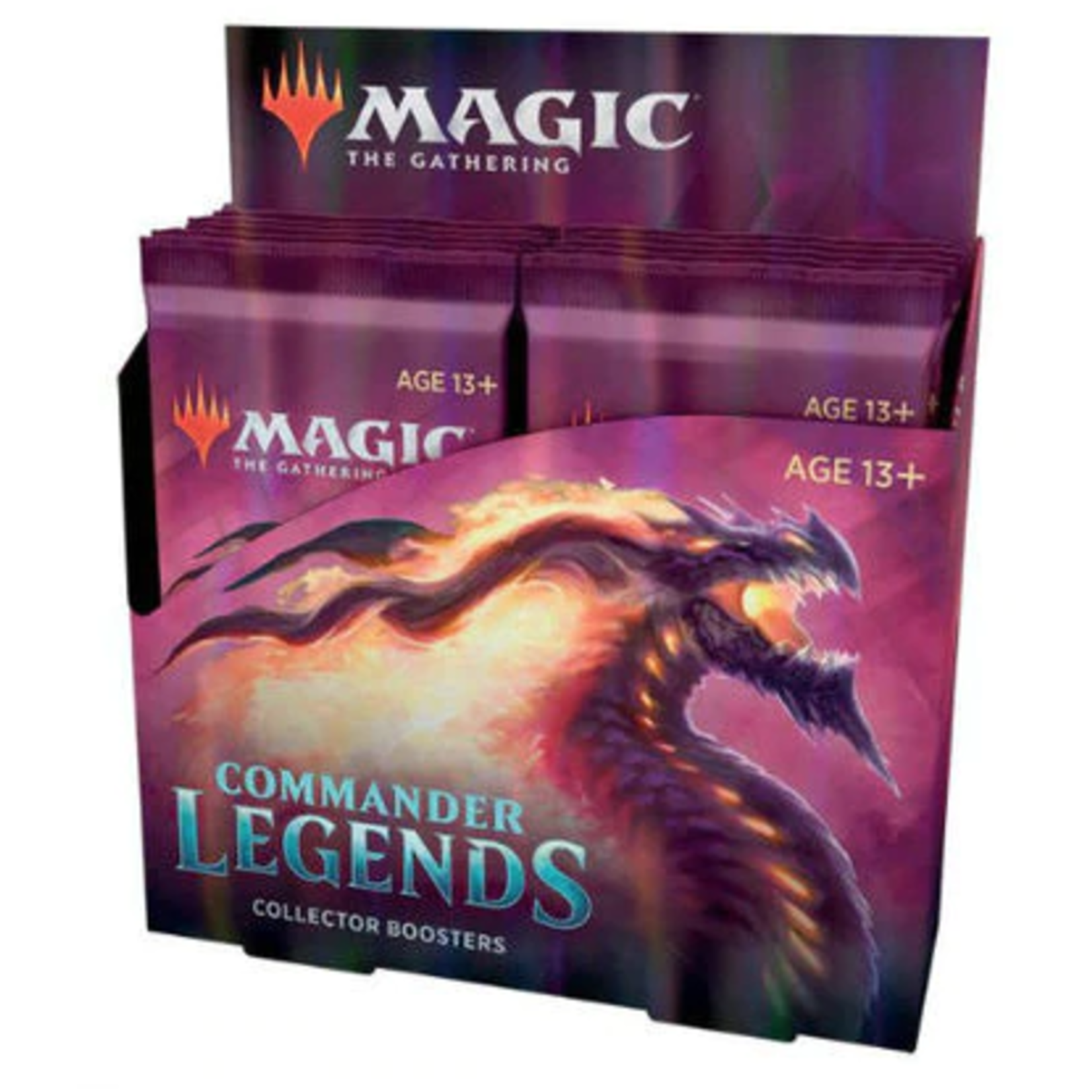 Wizards of the Coast Commander Legends Collectors Booster Box