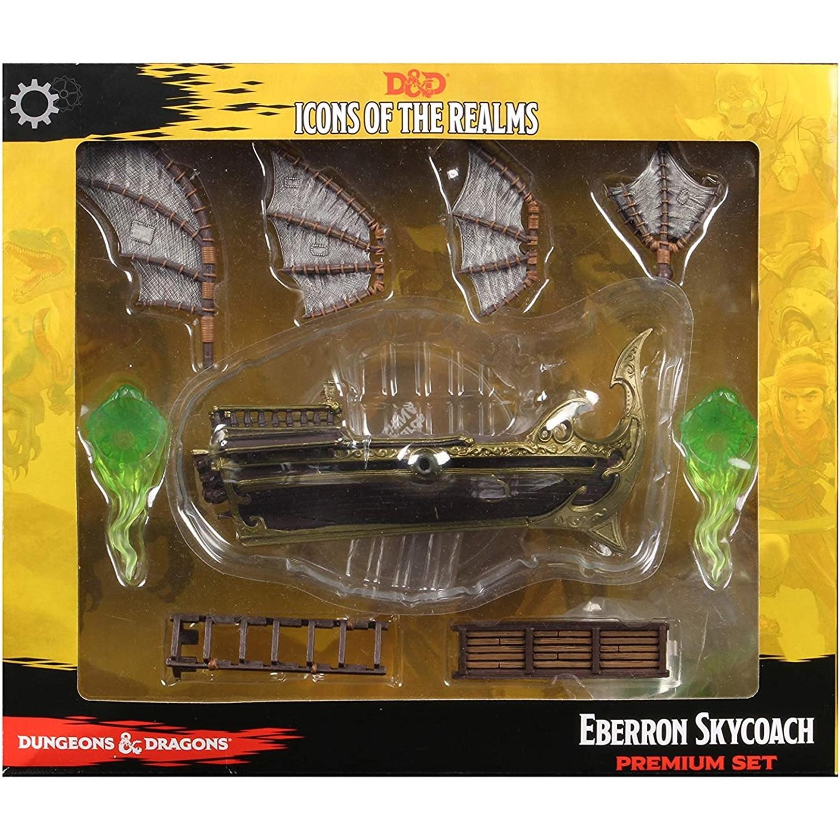 WizKids D&D Icons of the Realms Eberron Skycoach Premium Set