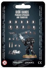 Iron Hands Primaris Upgrades (40K)