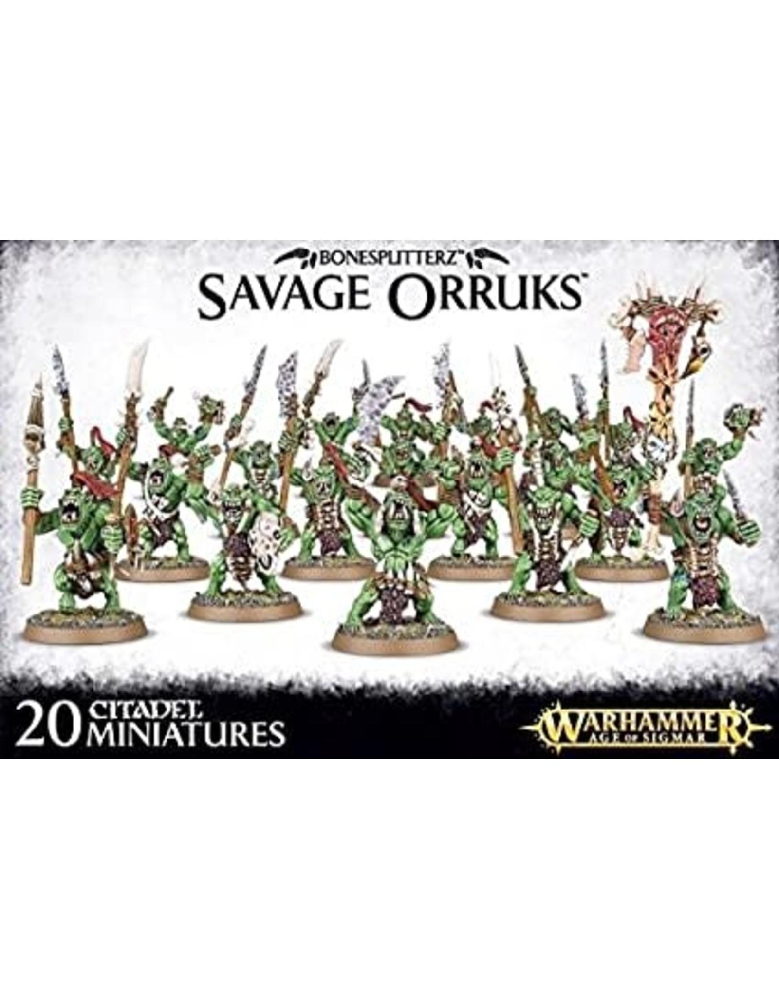 Bonesplitterz Savage Orruks (AOS)