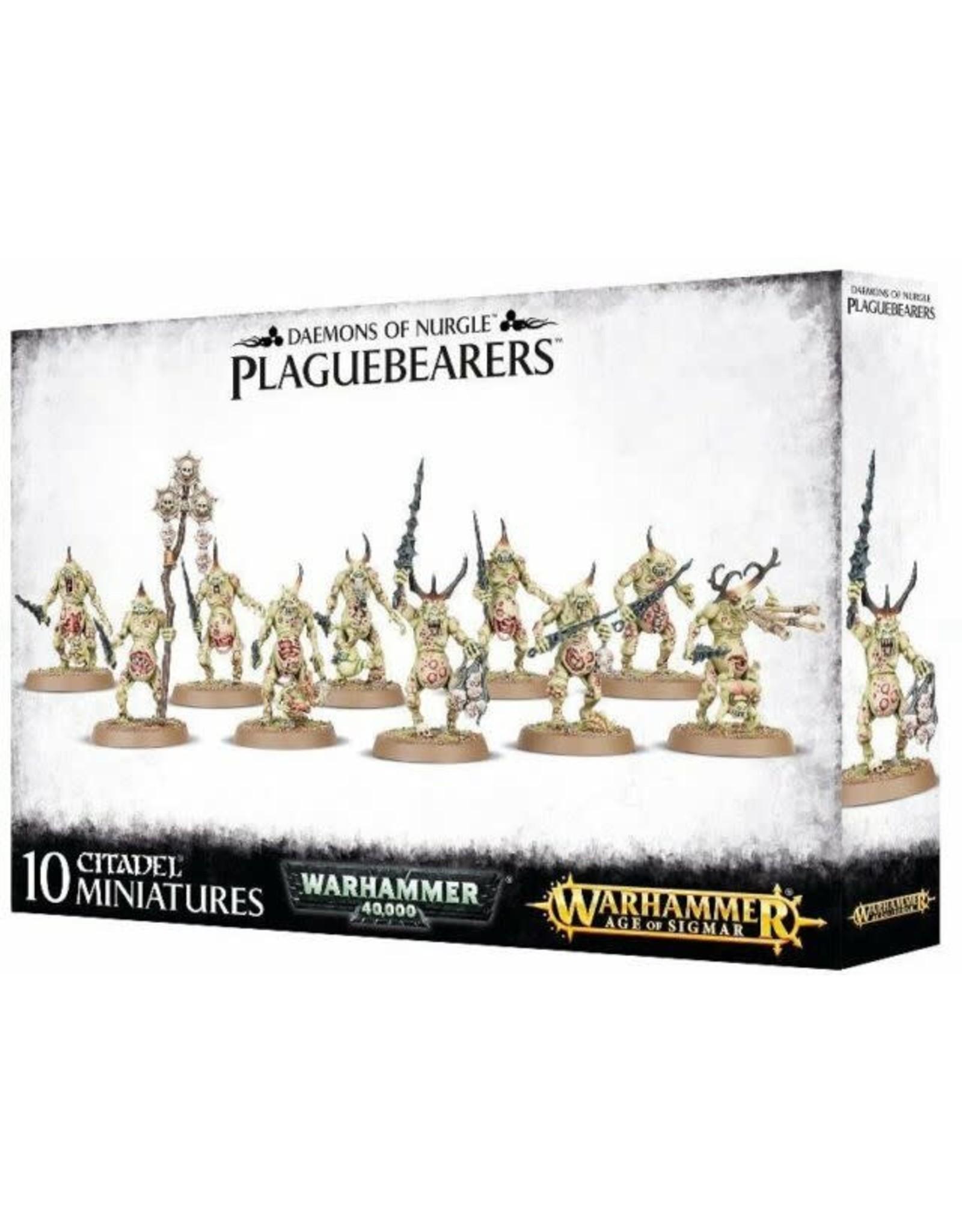 Plaguebearers of Nurgle (AOS)