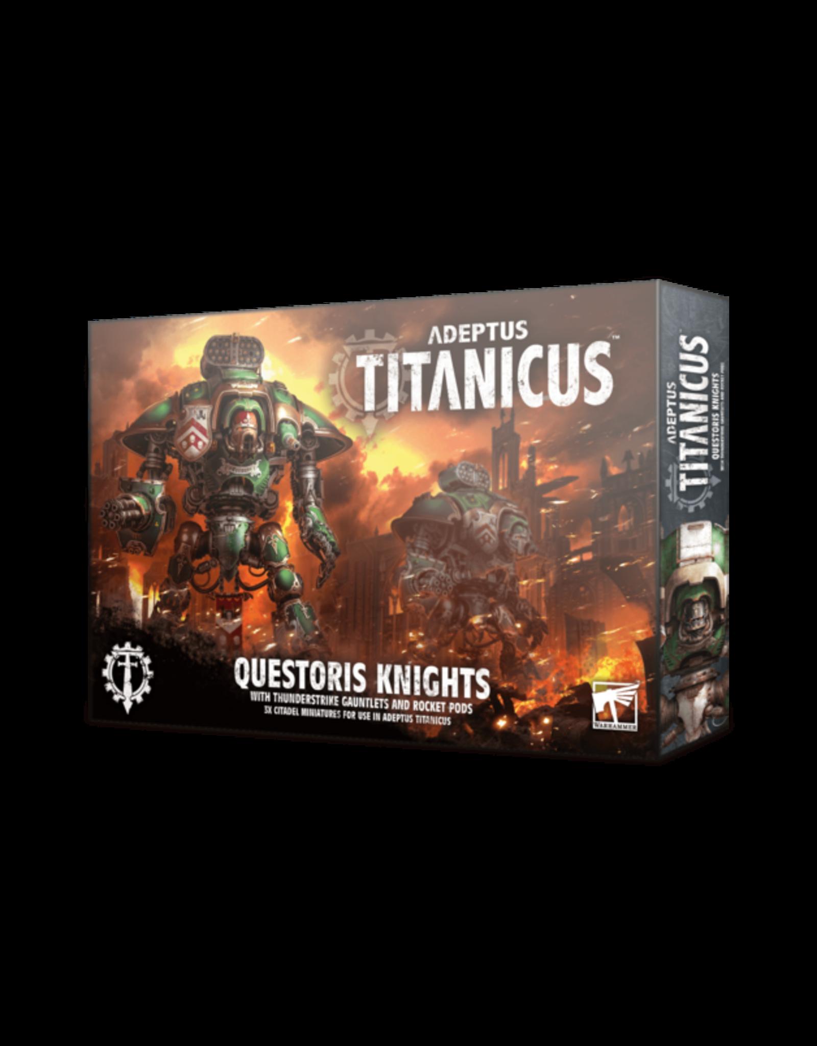 Adeptus Titanicus Imperial Questoris