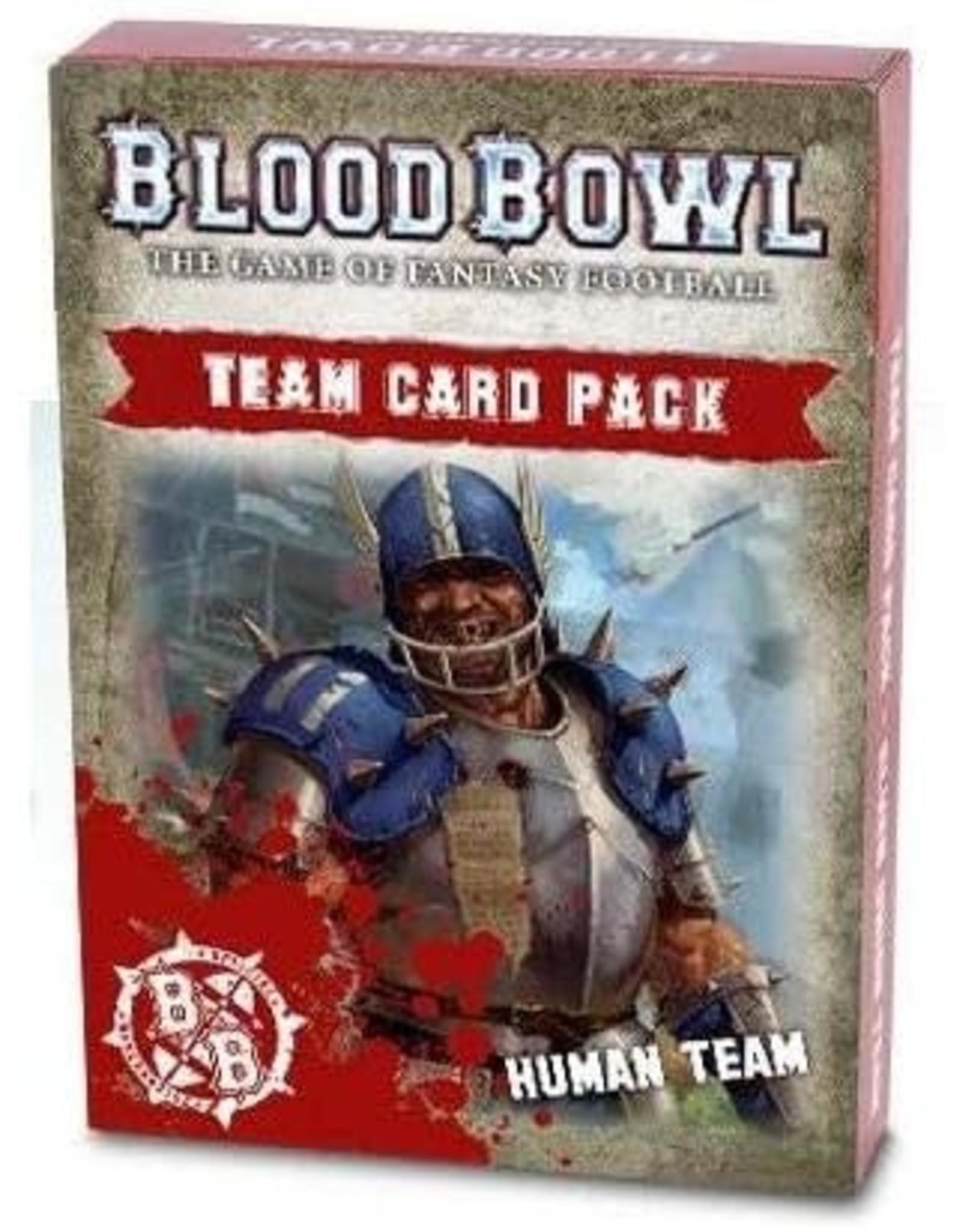 Blood Bowl: Human Card Pack