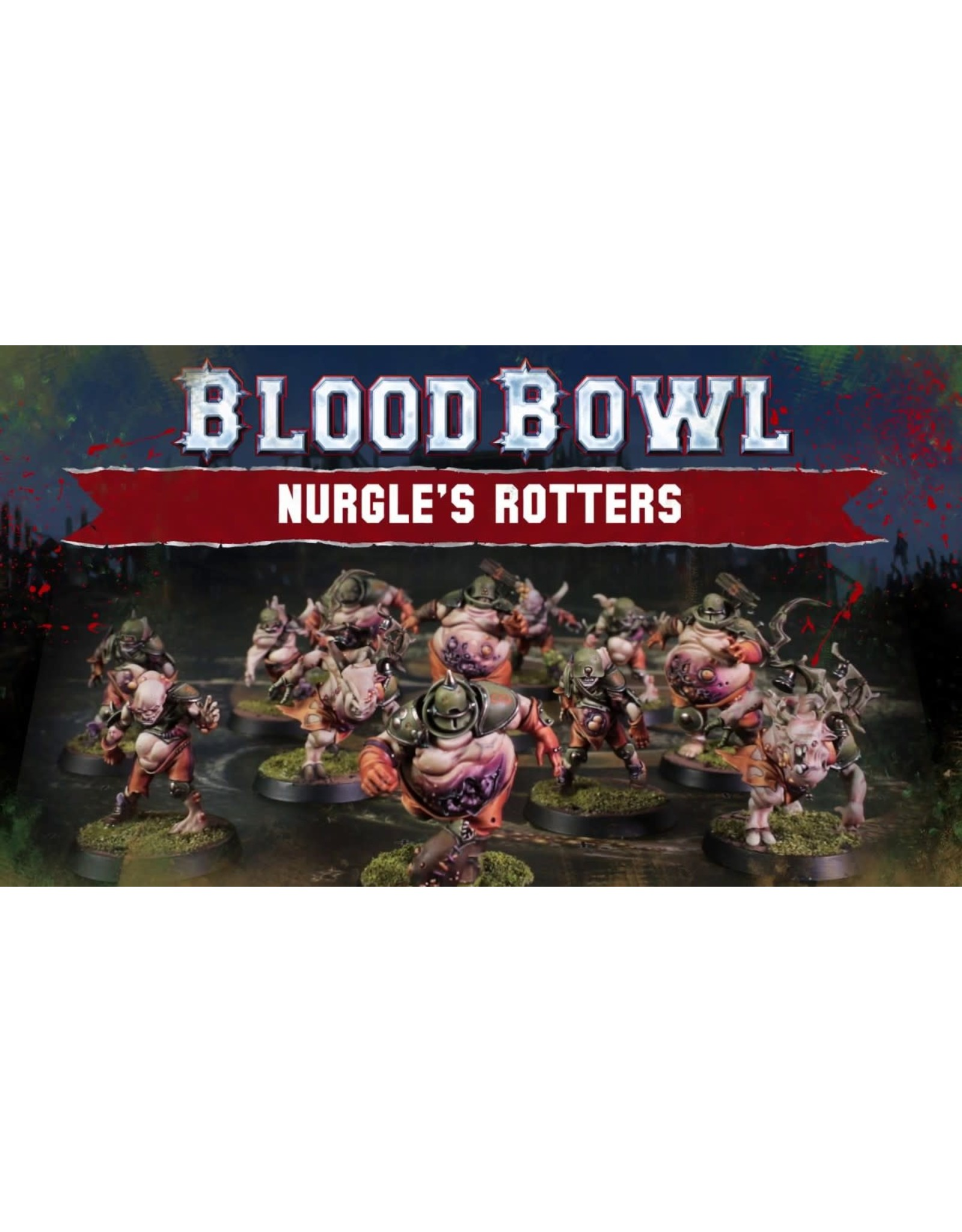 Blood Bowl: Nurgles Rotters