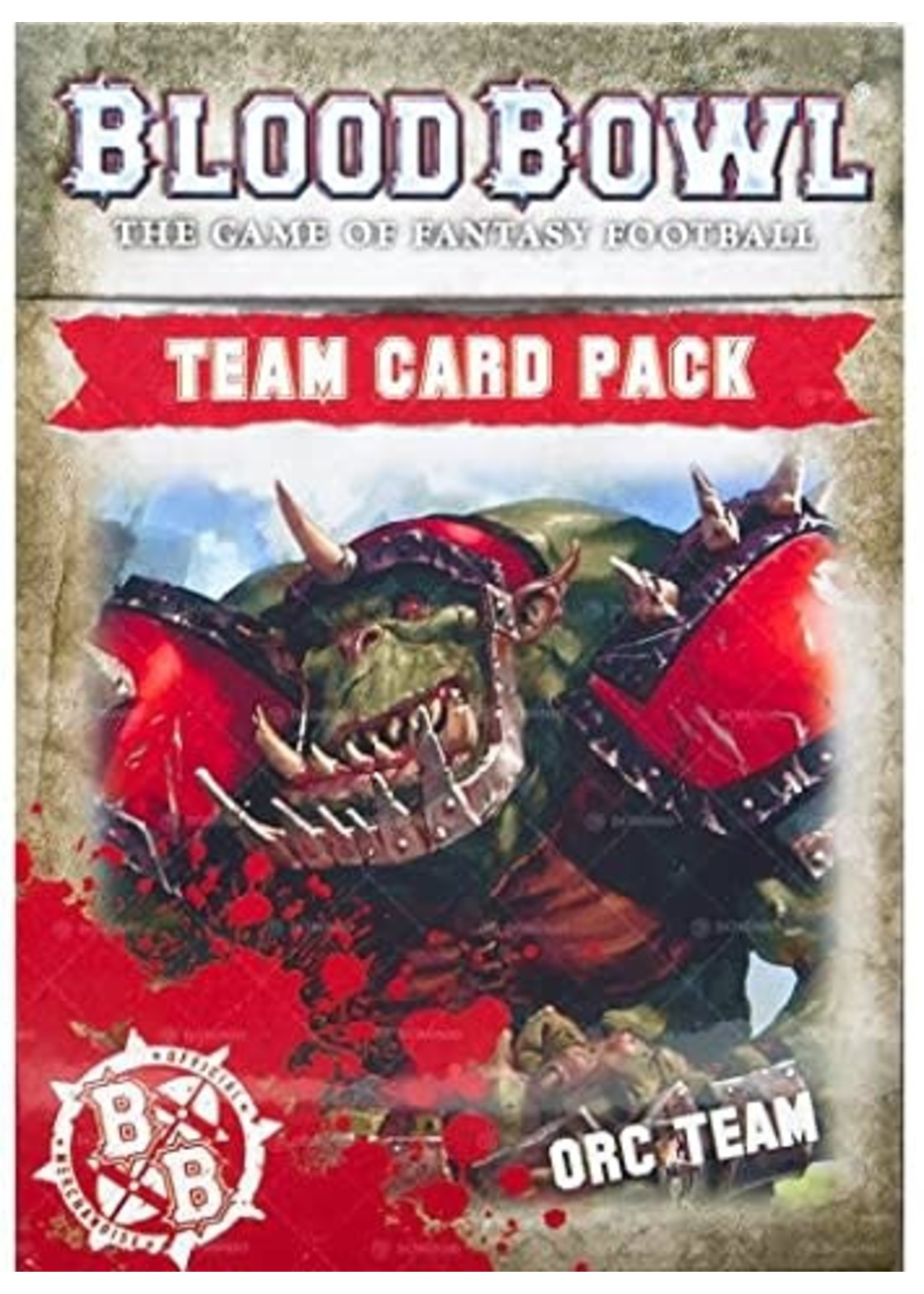 Blood Bowl: Orc Card Pack