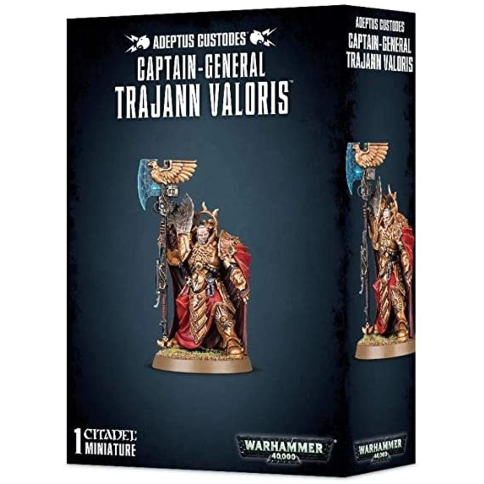 Captain-General Trajann Valoris (40K)