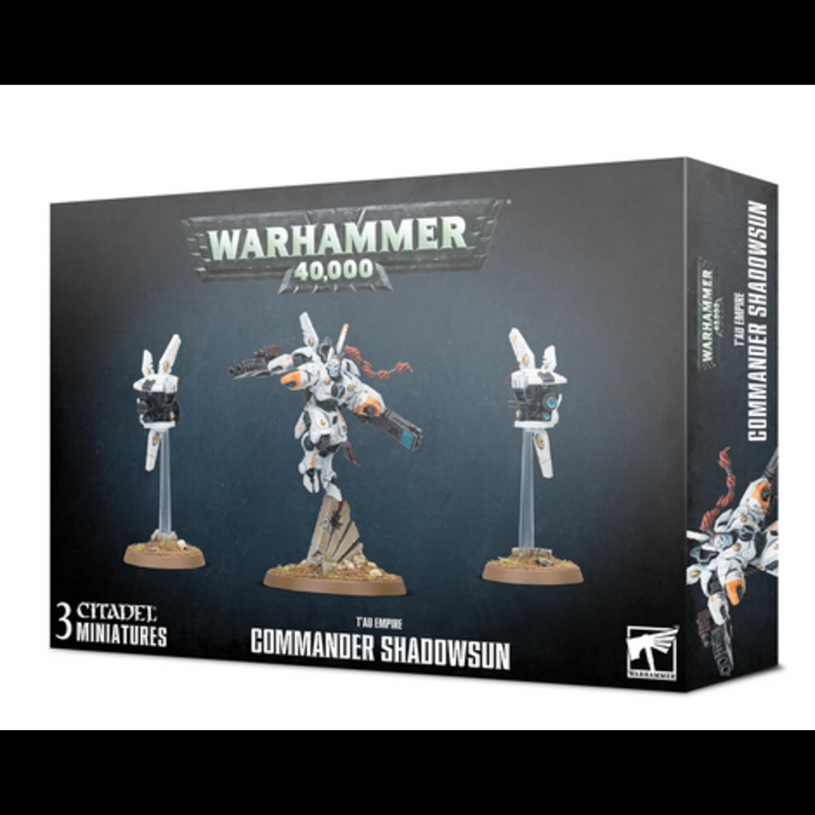 Tau Empire Commander Shadowsun (40K)