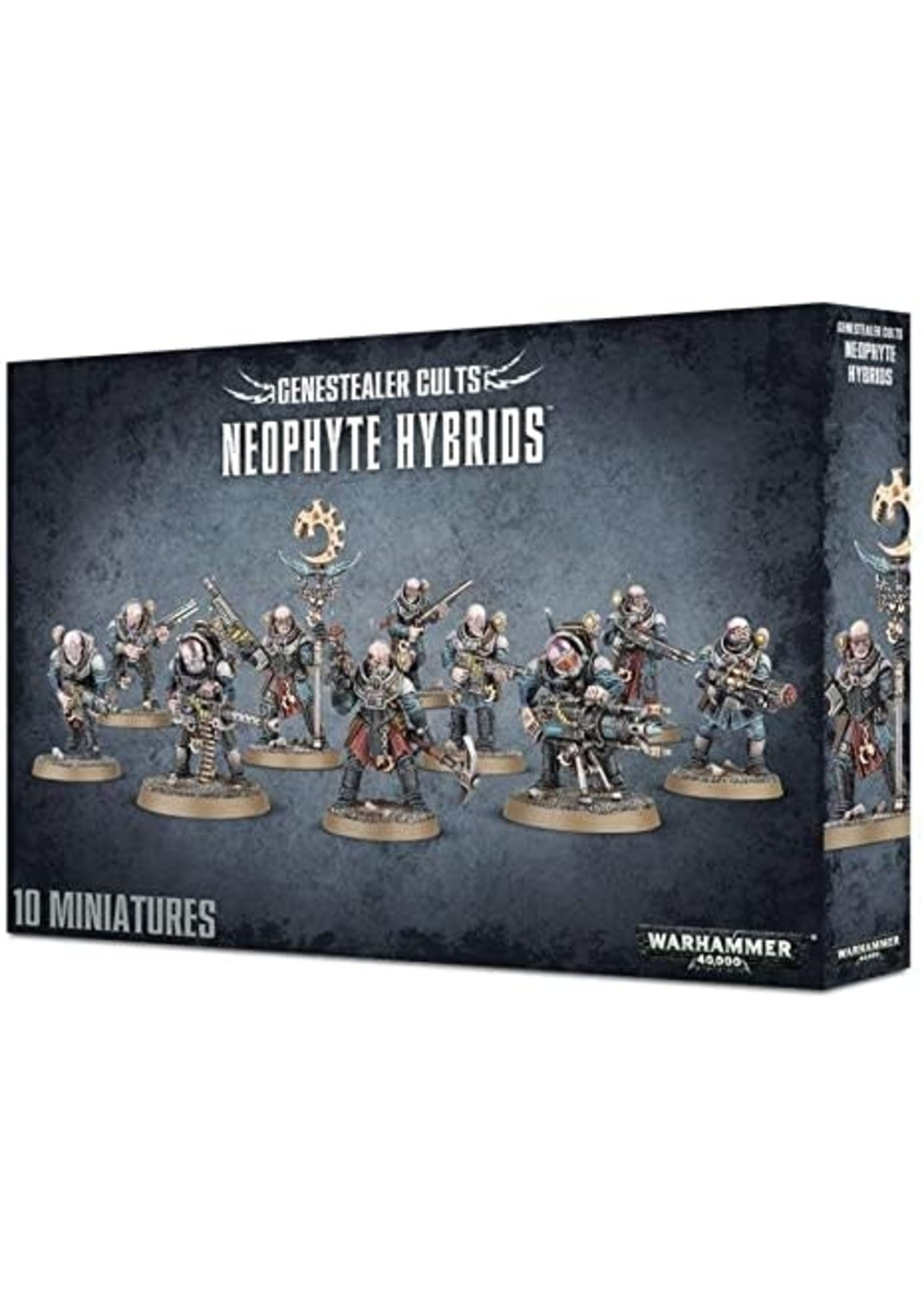 Gene-Stealer Cults Neophyte Hybrid Squad (40K)