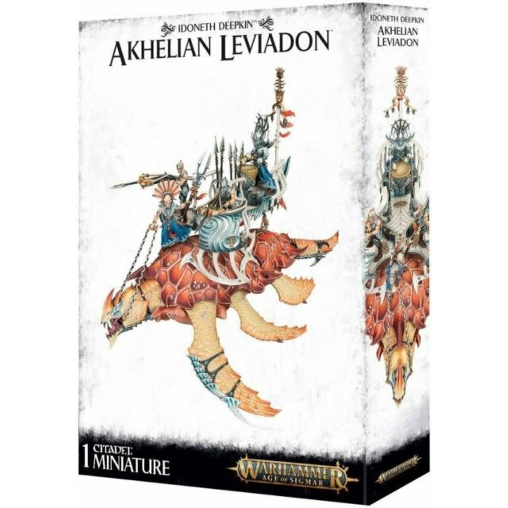 Idoneth Deepkin Akhelian Leviadon (AOS)