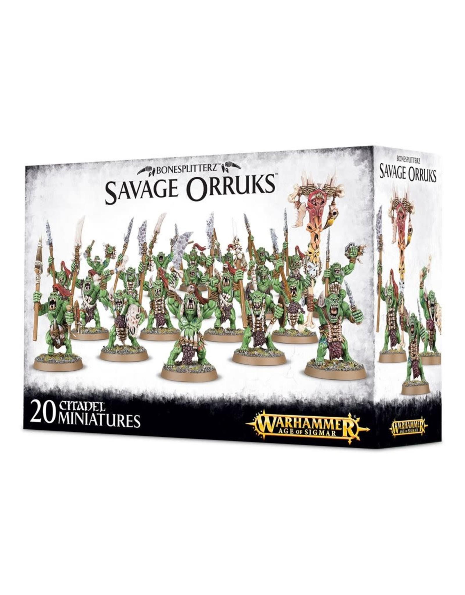 Savage Orcs (AOS)