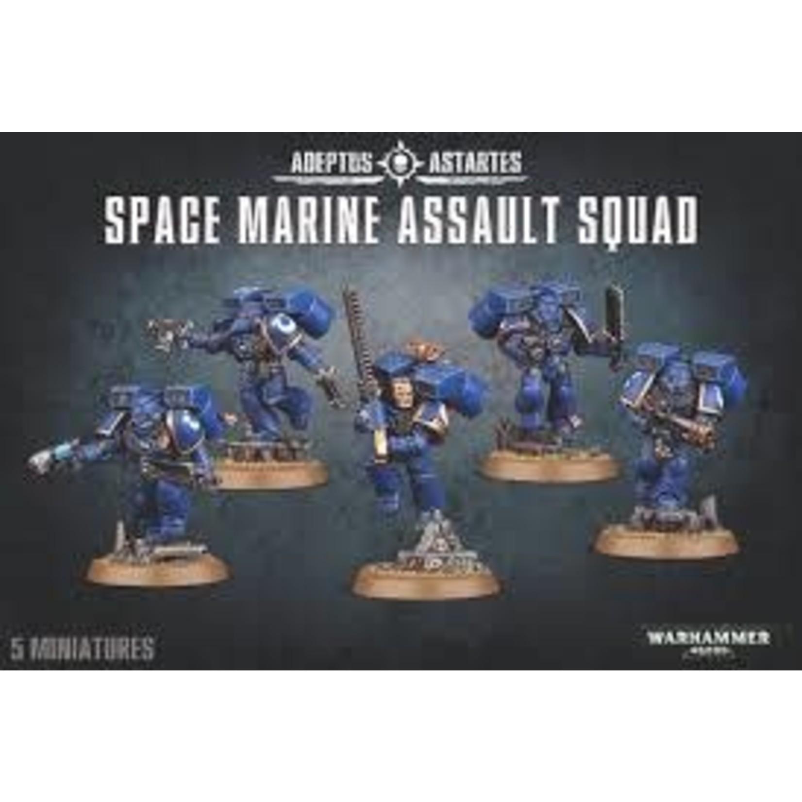 Space Marine Assault Squad (40K)