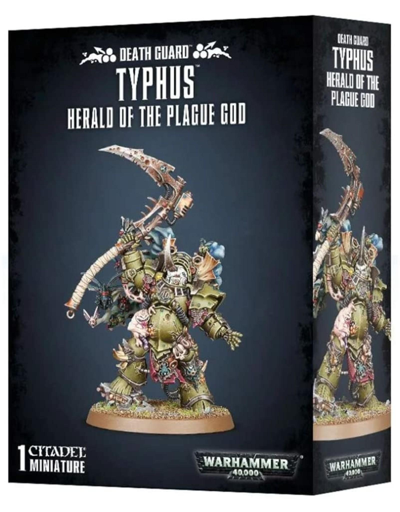 Death Guard Typhus (40K)