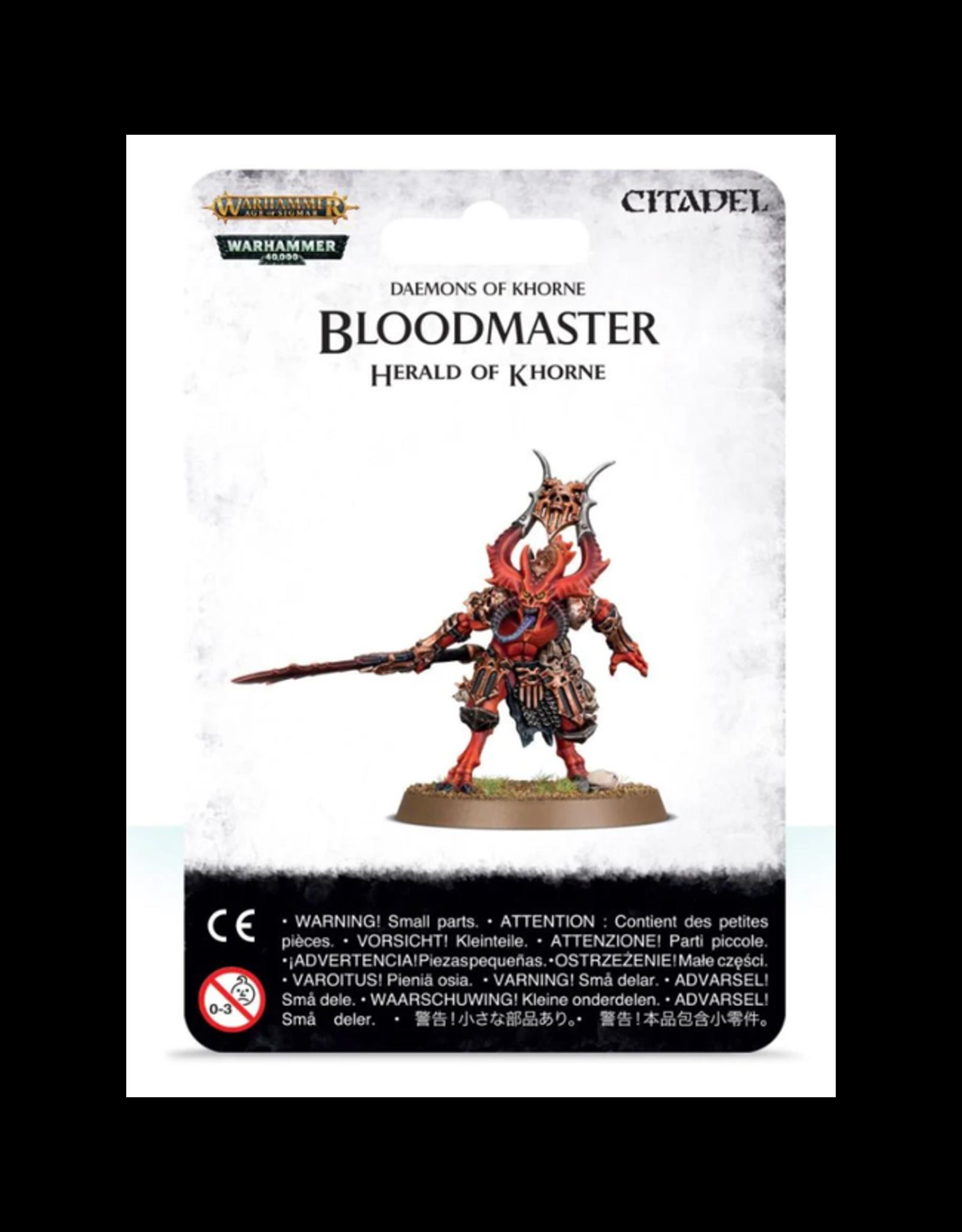Daemons of Khorne Bloodmaster Herald of Khorne (AOS)