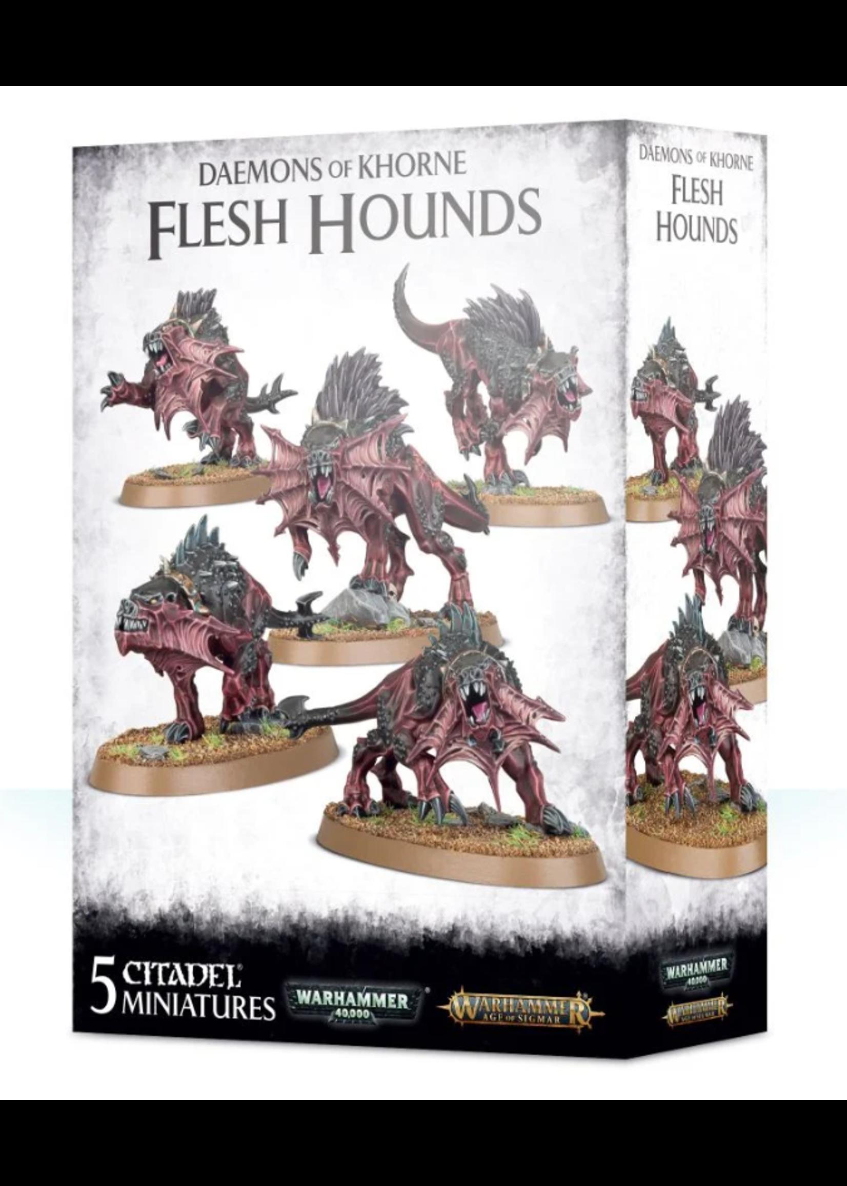 Daemons of Khorne Flesh Hounds (AOS)