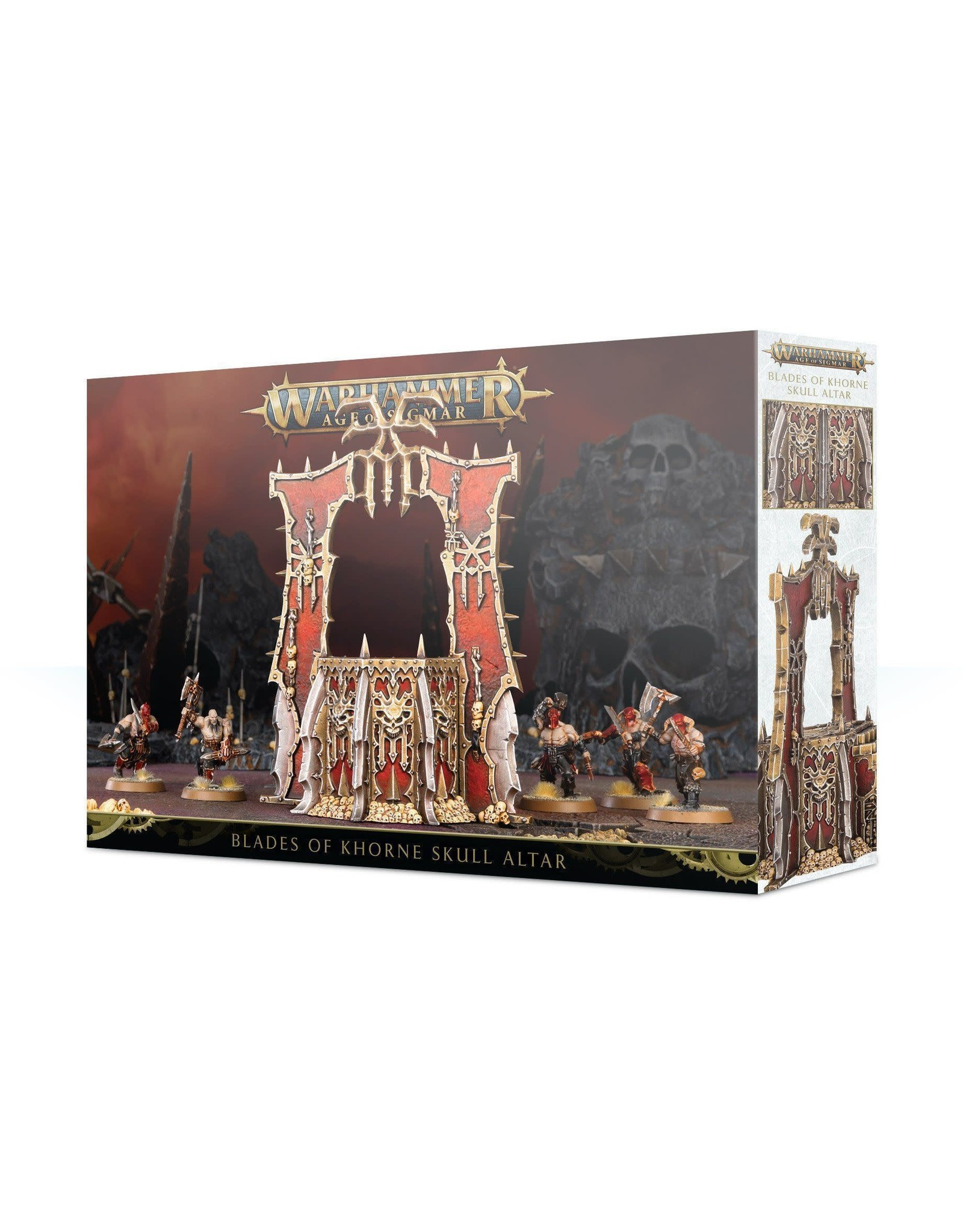 Blades of Khorne Skull Altar (AOS)