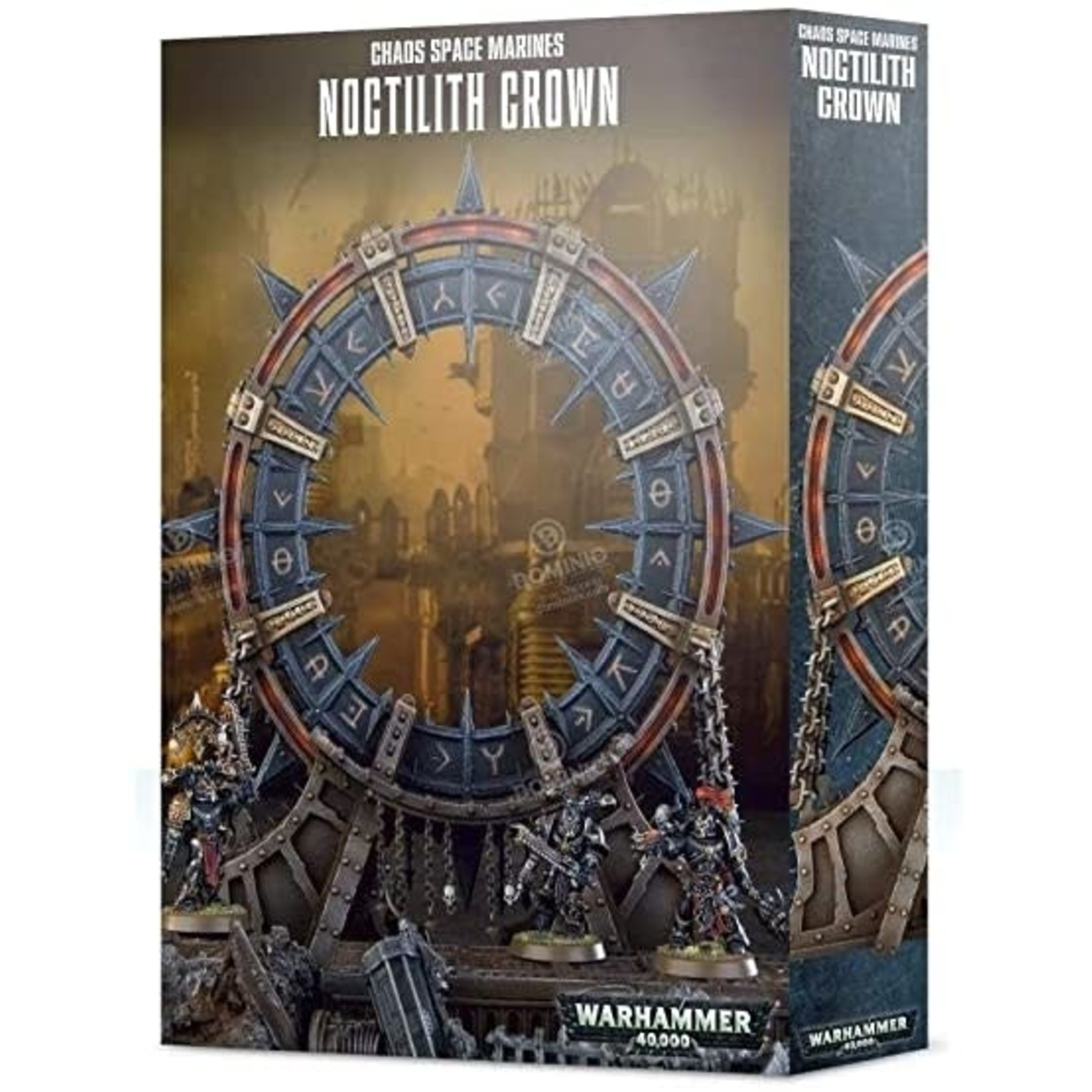 Chaos Space Marines Noctilith Crown (40K)