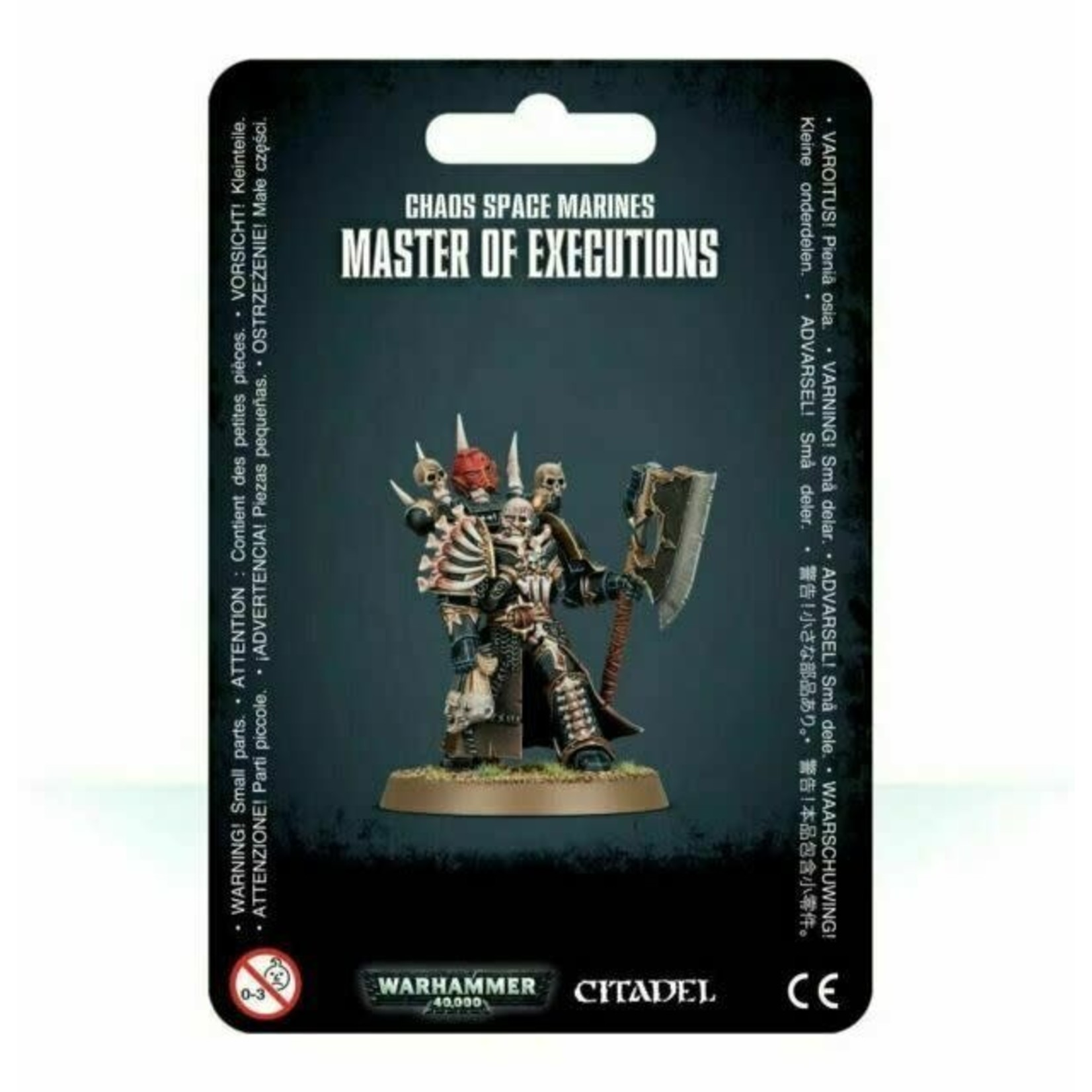 Chaos Space Marine Master of Executions (40K)