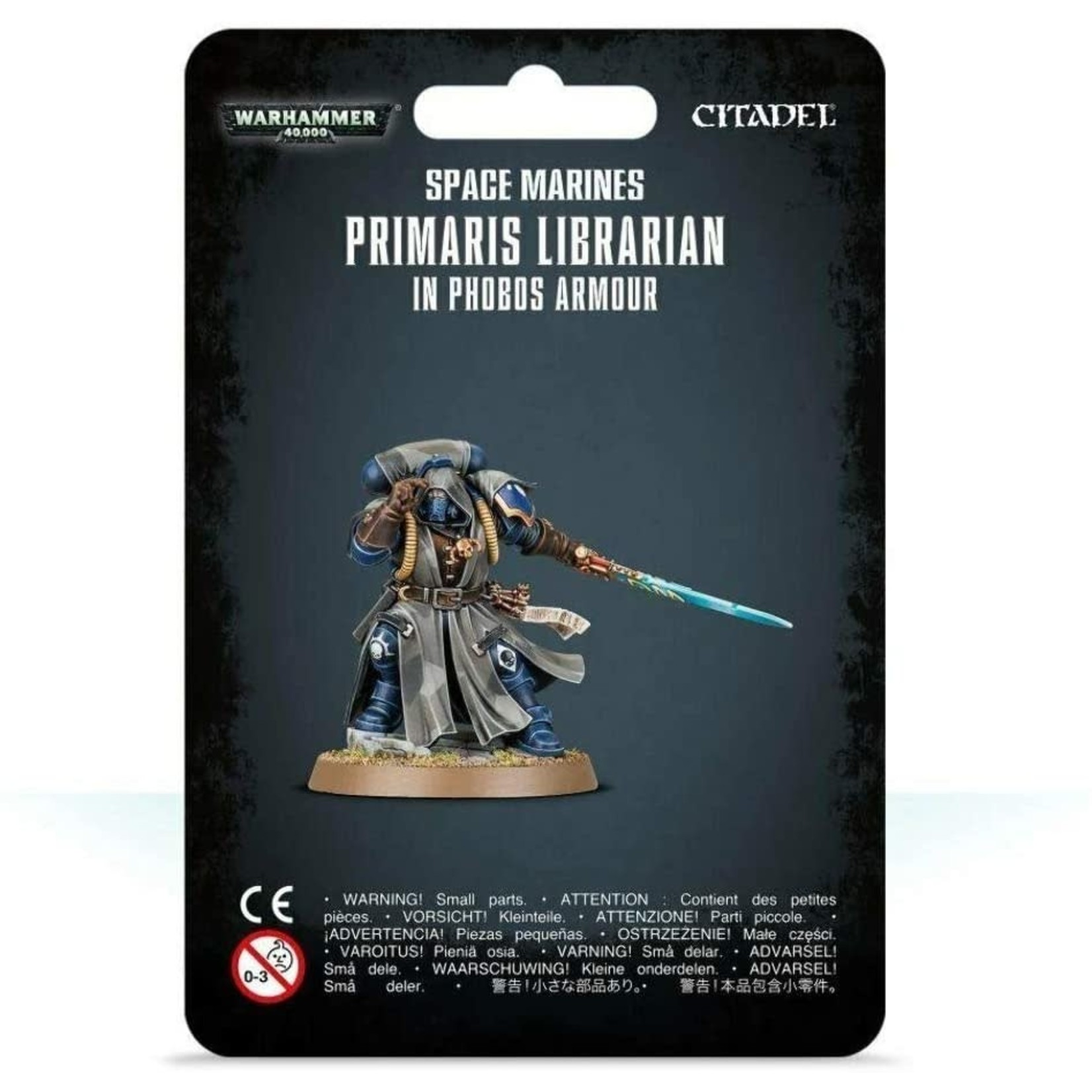 Space Marines Librarian in Phobos Armour (40K)