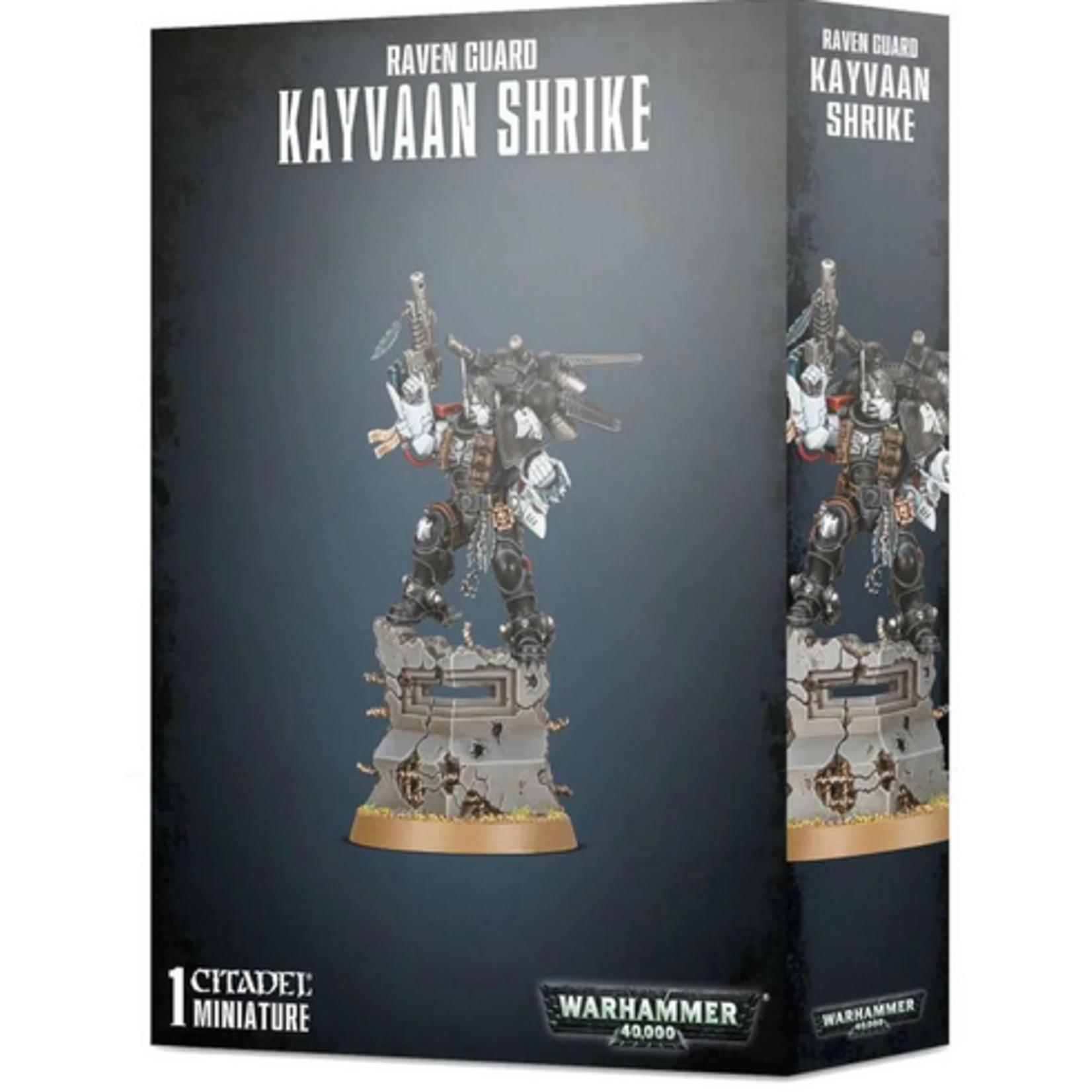 Raven Guard Kayvaan Shrike (40K)
