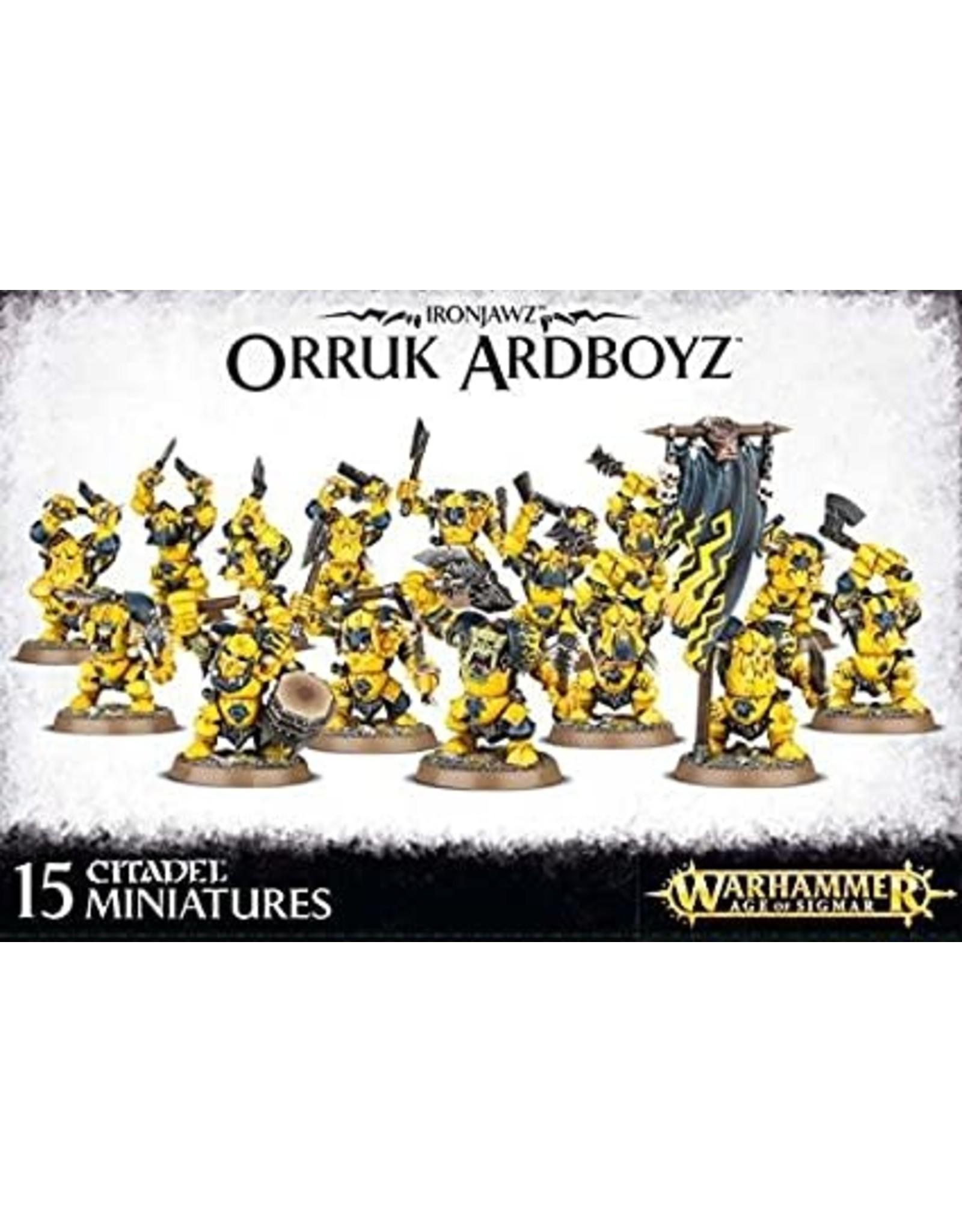 Ironjawz Orruk ArdBoyz (AOS)