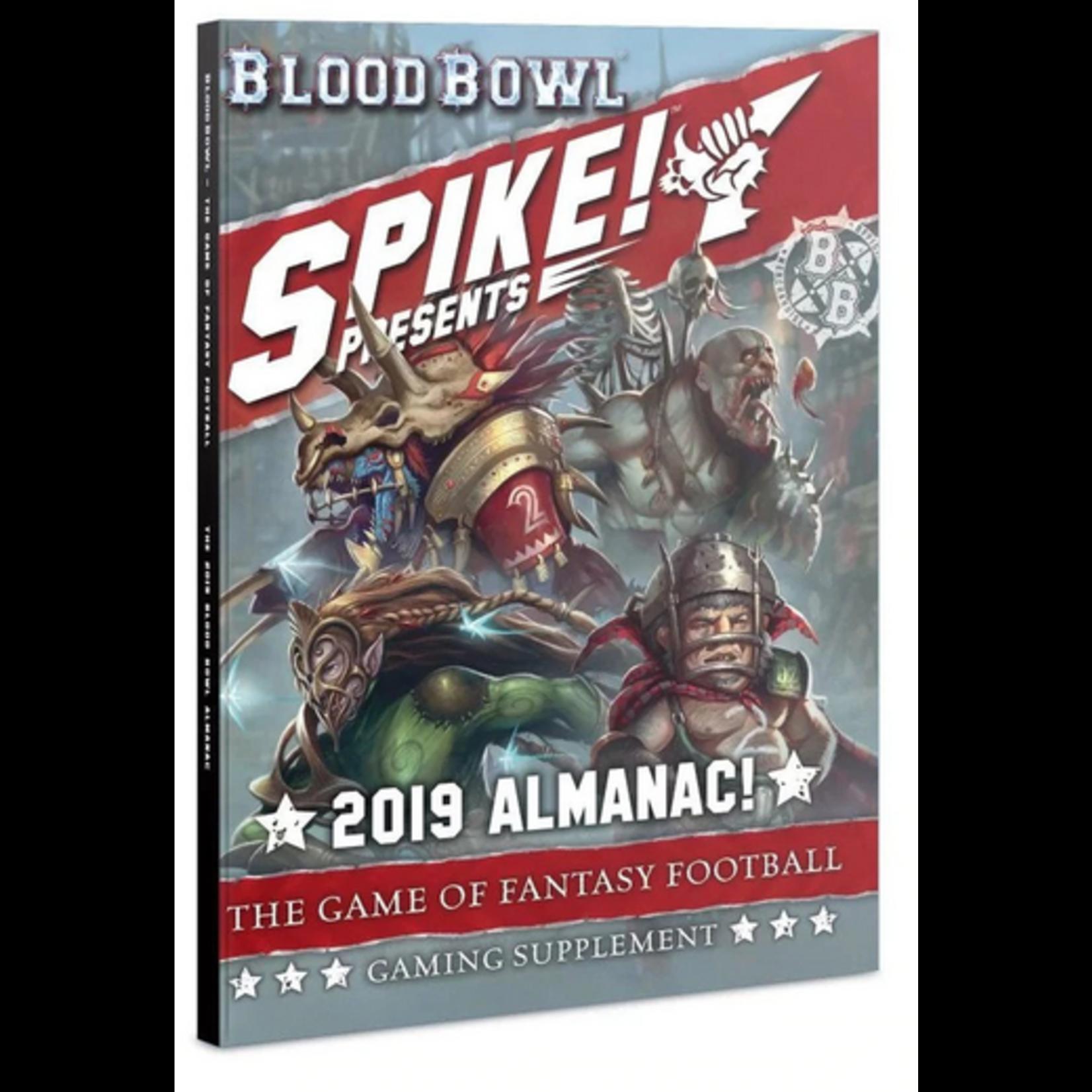 Blood Bowl: Spike 2019 Almanac!