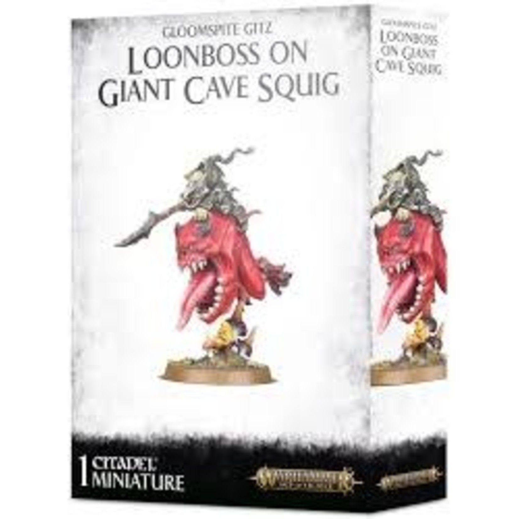 Gloomspite Loonboss on Cave Squig (AOS)