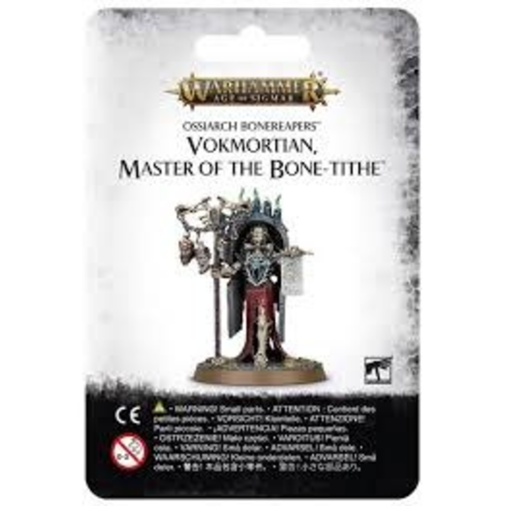 Ossiarch Bonereapers Vokmortian Master of the Bone Tithe (AOS)