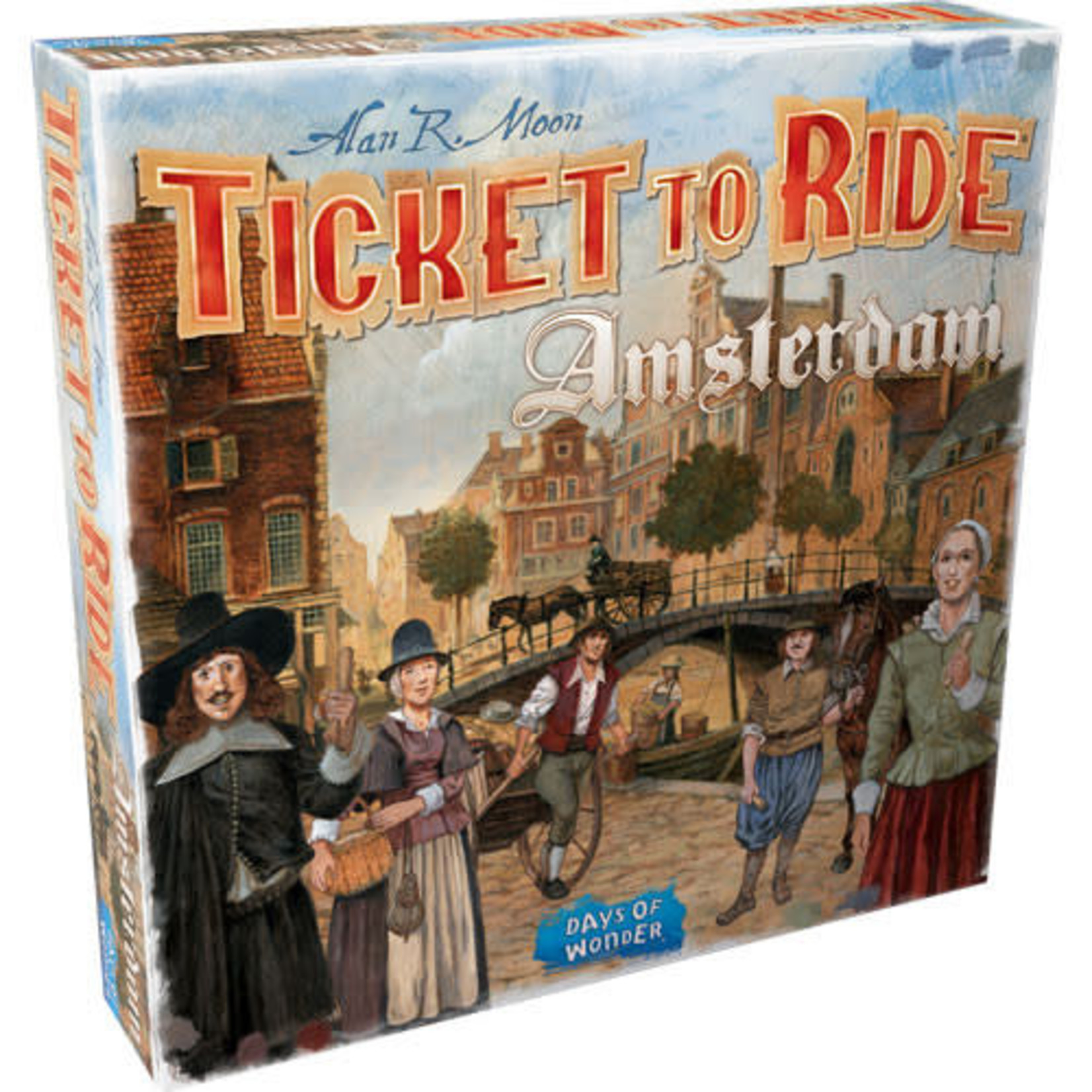 Asmodee Ticket to Ride Amsterdam Board Game