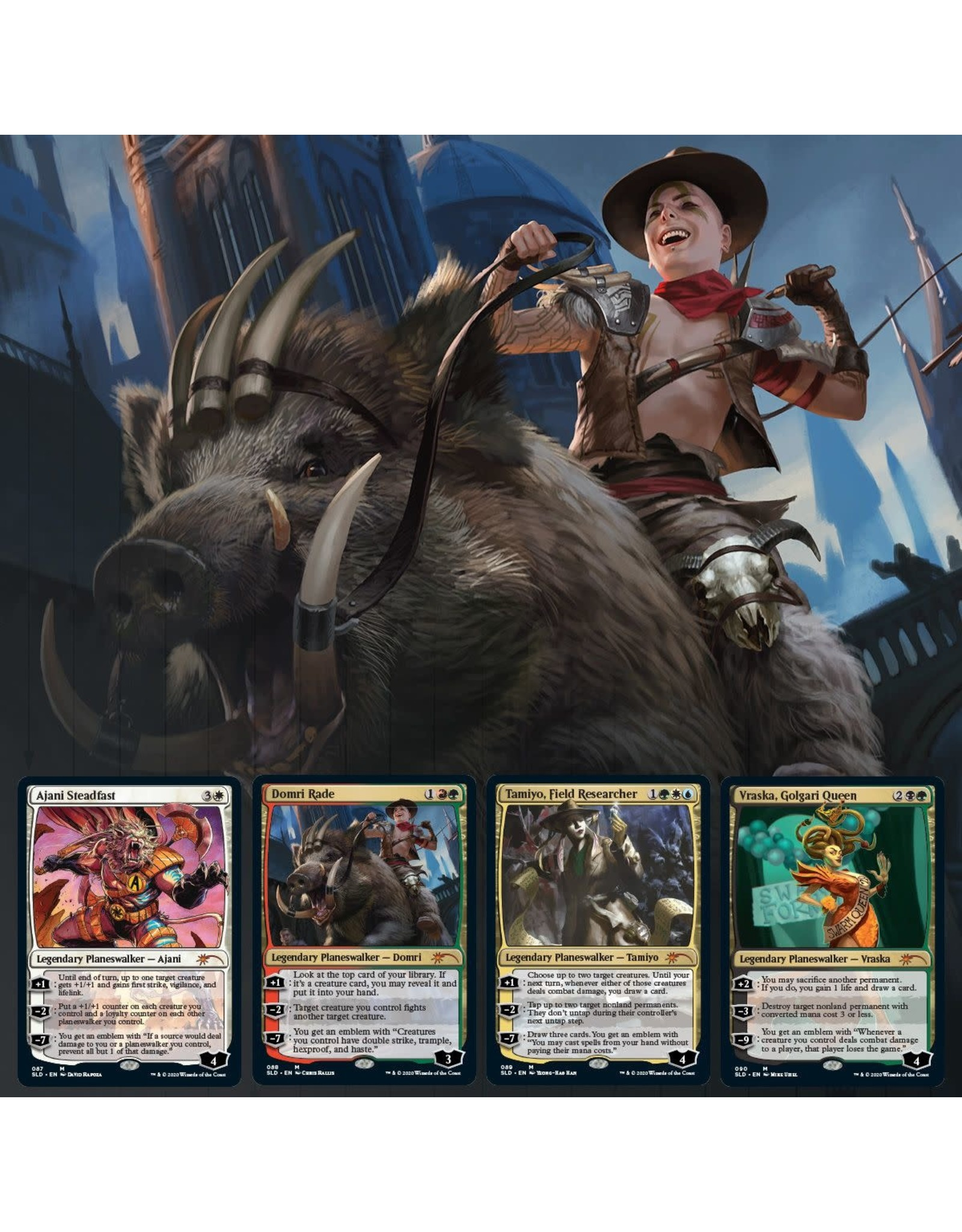 Wizards of the Coast Secret Lair Summer Superdrop: The Path Not Traveled