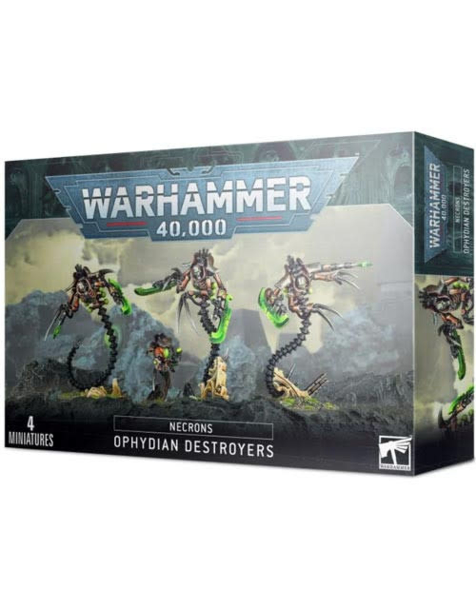 Necrons Ophydian Destroyers (40K)