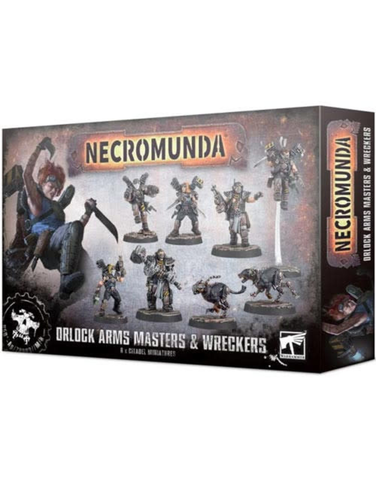 Necromunda Orlock Arms Master and Wreckers