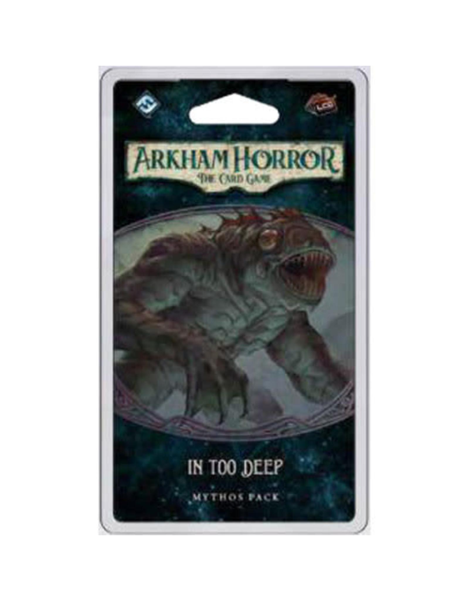Arkham Horror LCG In Too Deep Mythos Pack