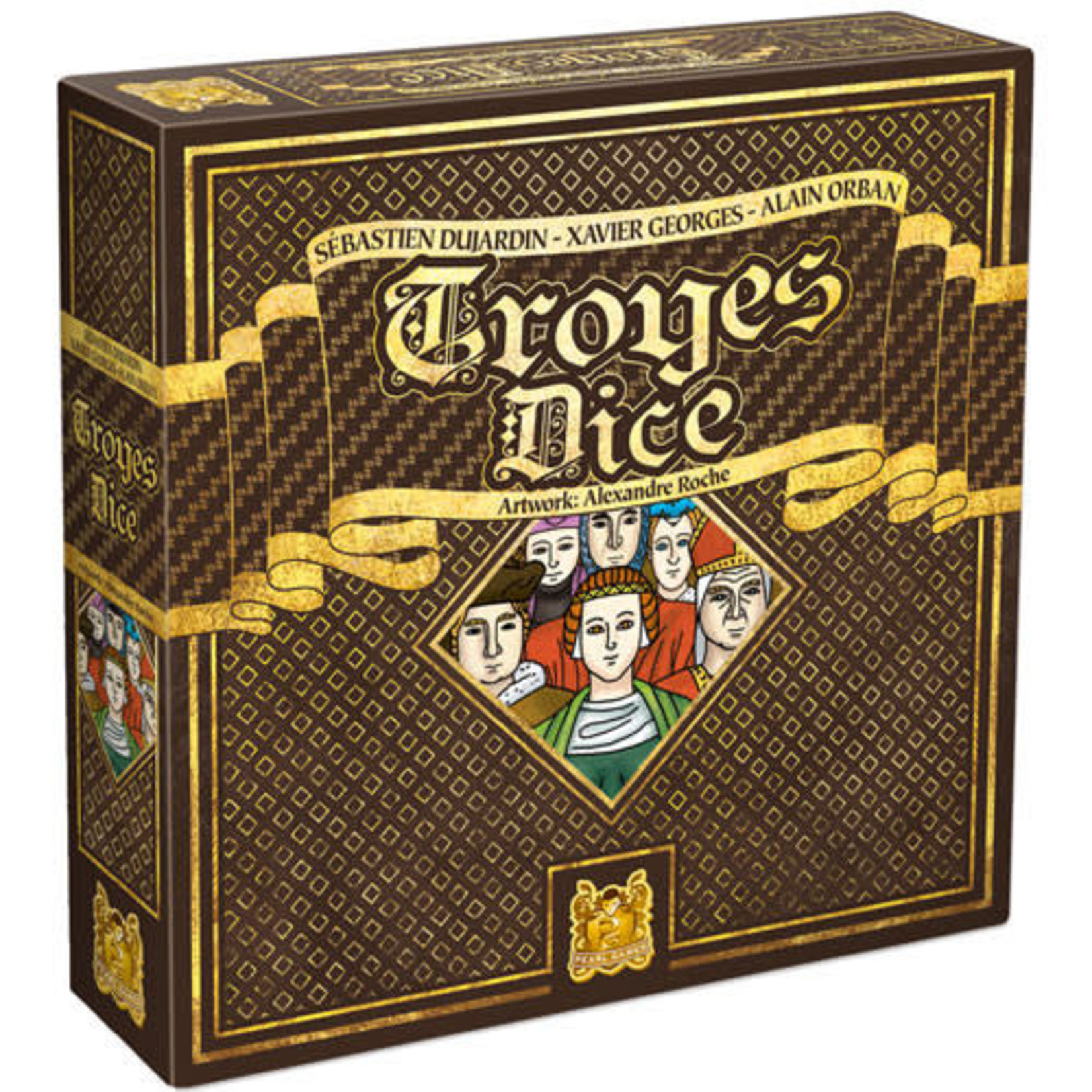 Troyes Dice Board game