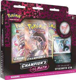 Pokemon Champion's Path Pin Collection Spikemuth Gym